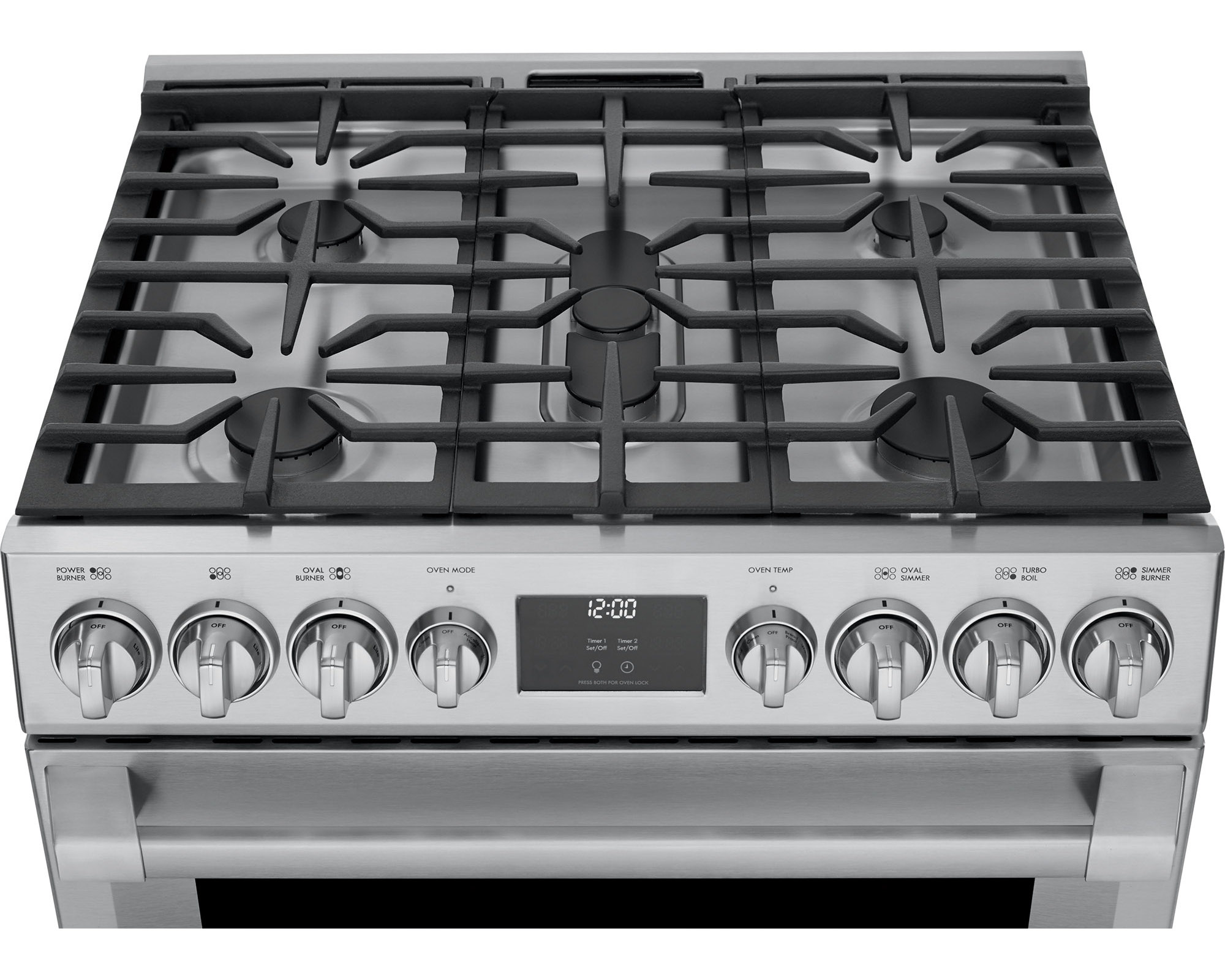 Kenmore Pro 72583 5.1 cu. ft. Self-Clean Gas True Convection Range - Stainless Steel
