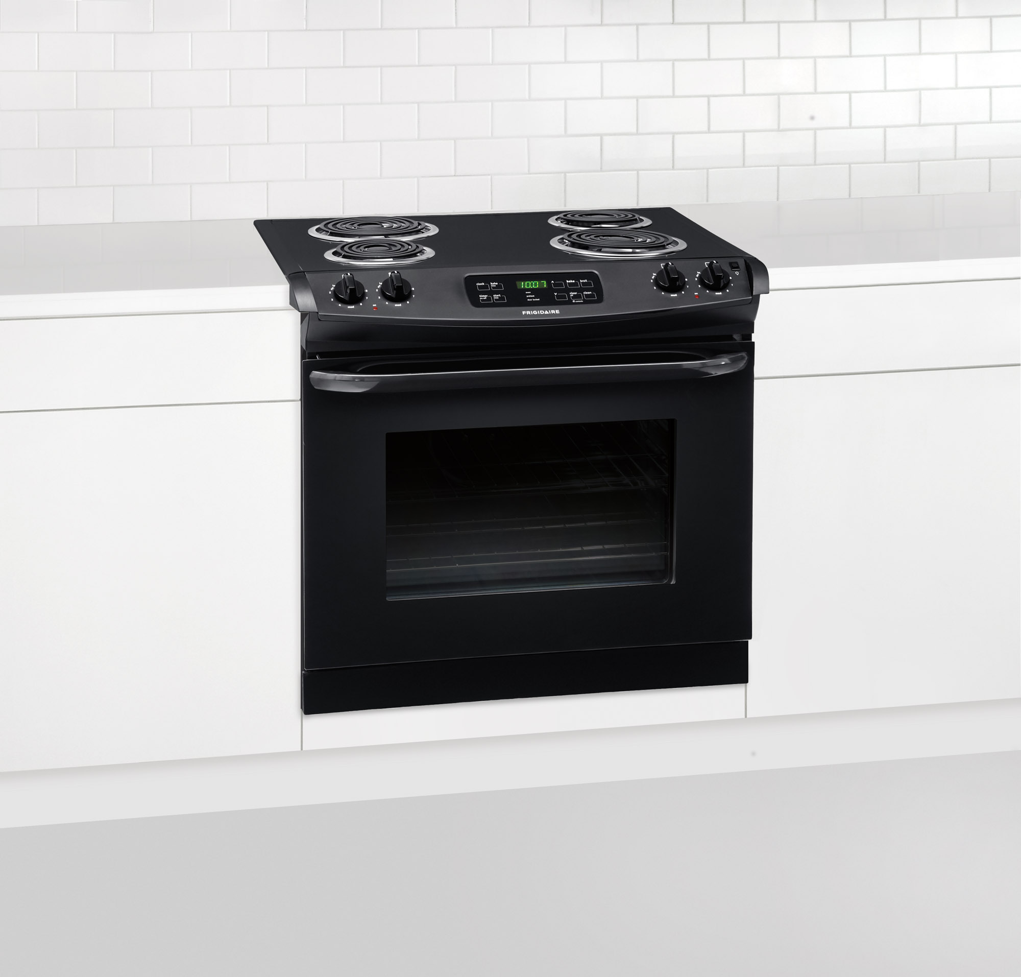 "Frigidaire FFED3015PB 30"" Drop-In Electric Range - Black"