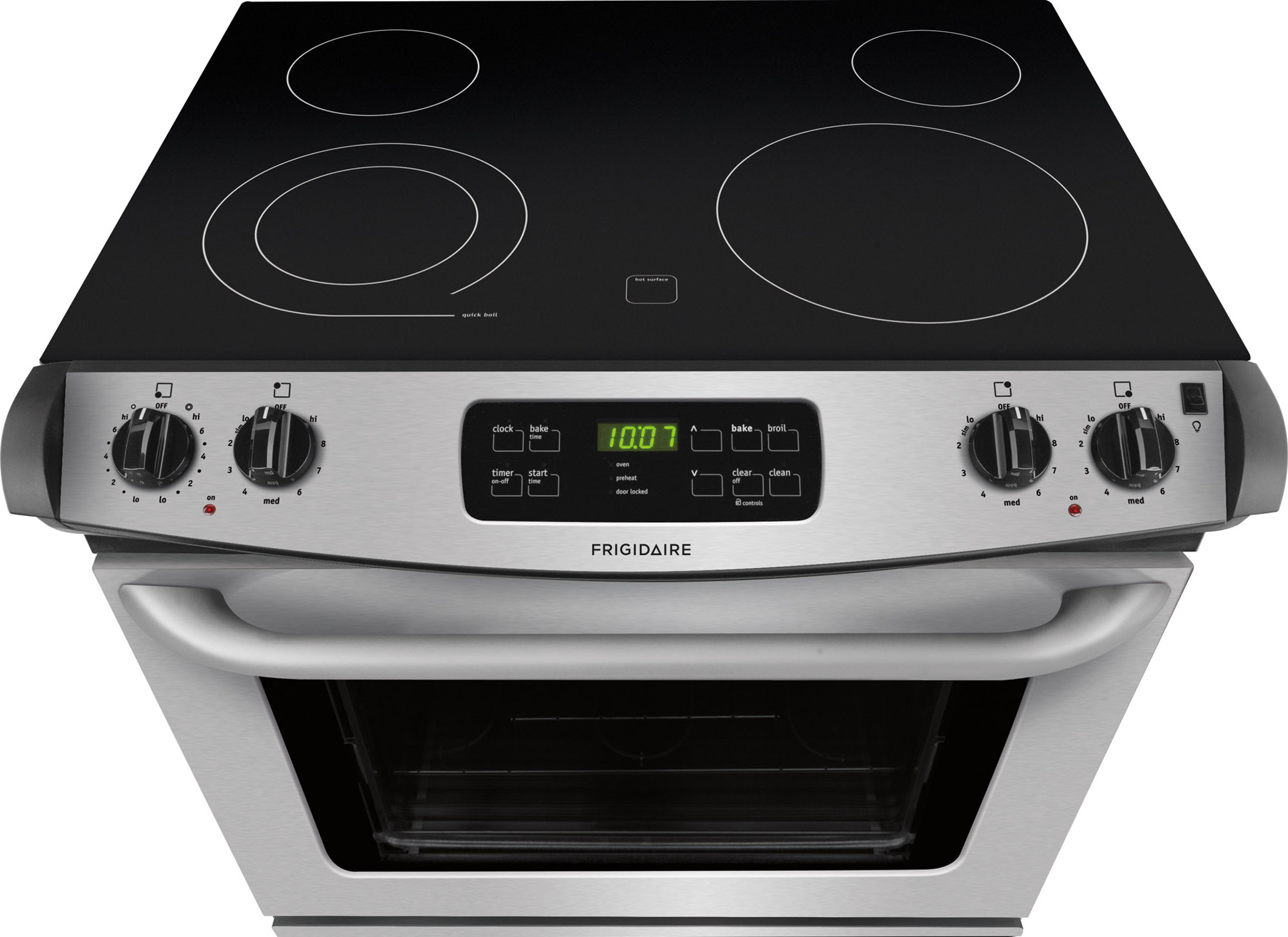 """Frigidaire FFED3025PS 30"""" Drop-In Electric Range - Stainless Steel"""