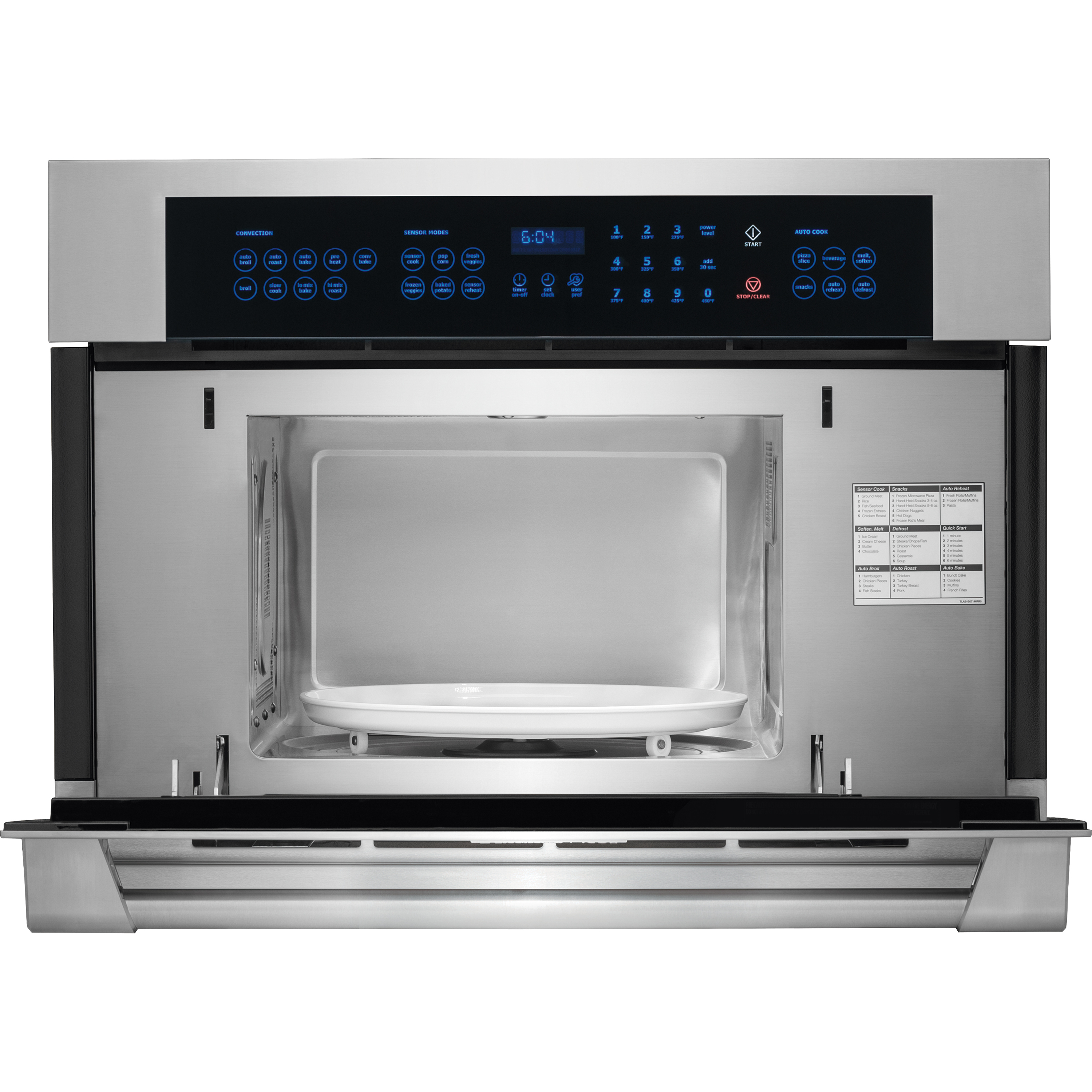 Electrolux ICON E30MO75HPS ICON Professional 1.5 cu. ft. Built-In Microwave Oven - Stainless Steel