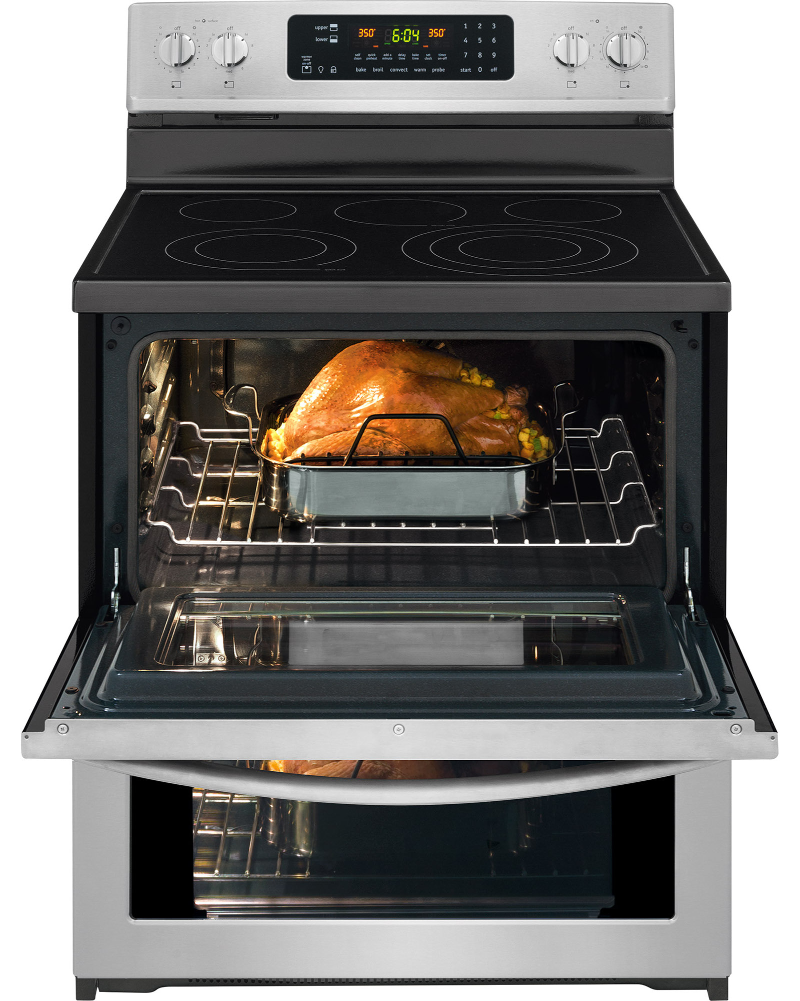 """Frigidaire Gallery FGEF306TPF 30"""" Electric Double Oven Range - Stainless Steel"""