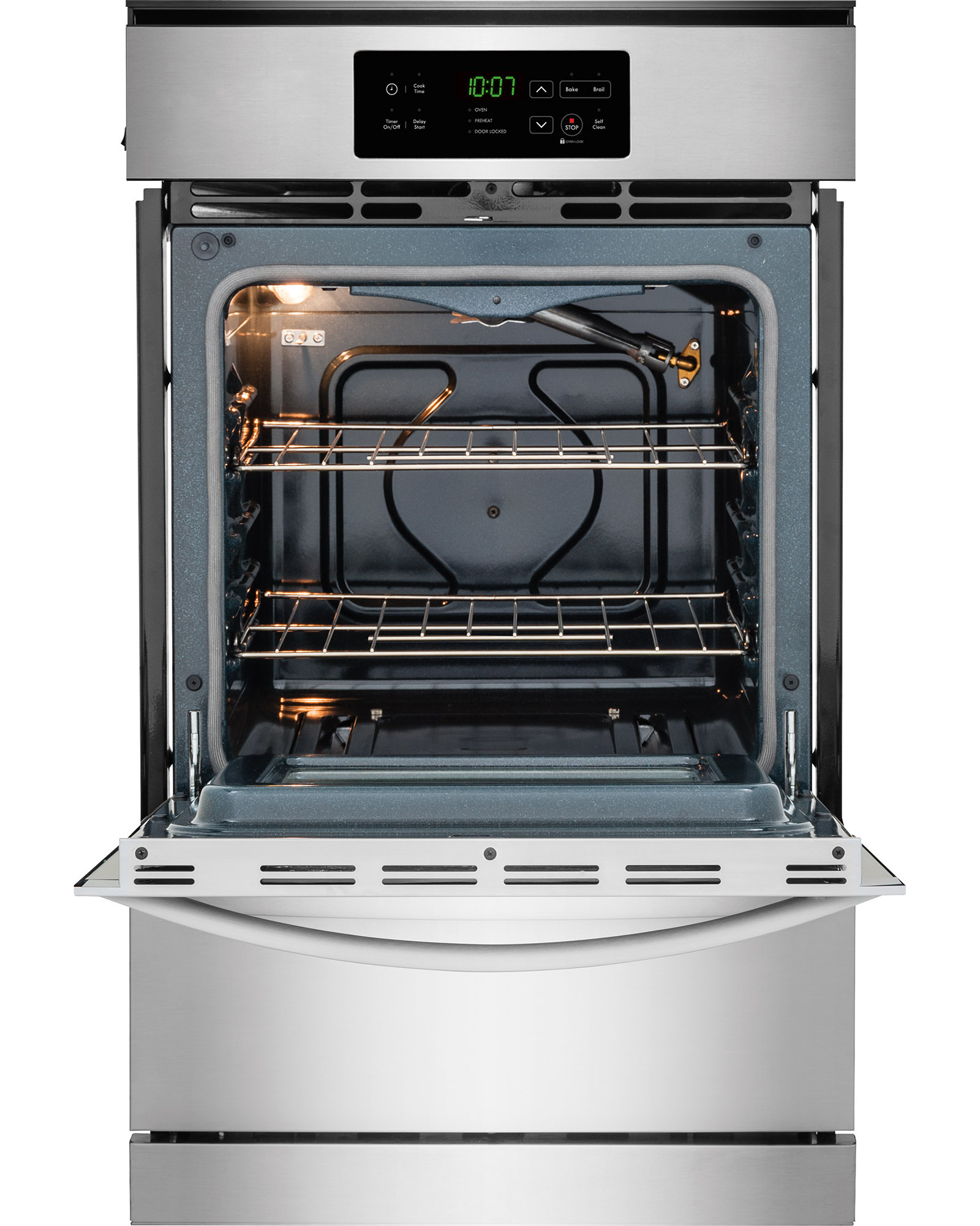 """Kenmore 40303 24"""" Gas Wall Oven - Stainless Steel"""