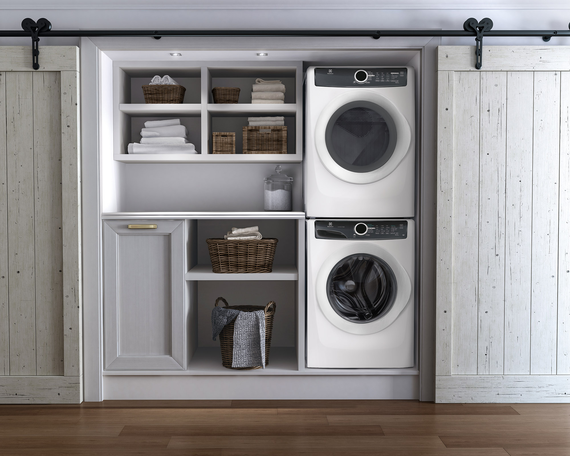Electrolux EFLW417SIW 4.3 cu. ft. Front-Load Washer w/ LuxCare Wash System - White