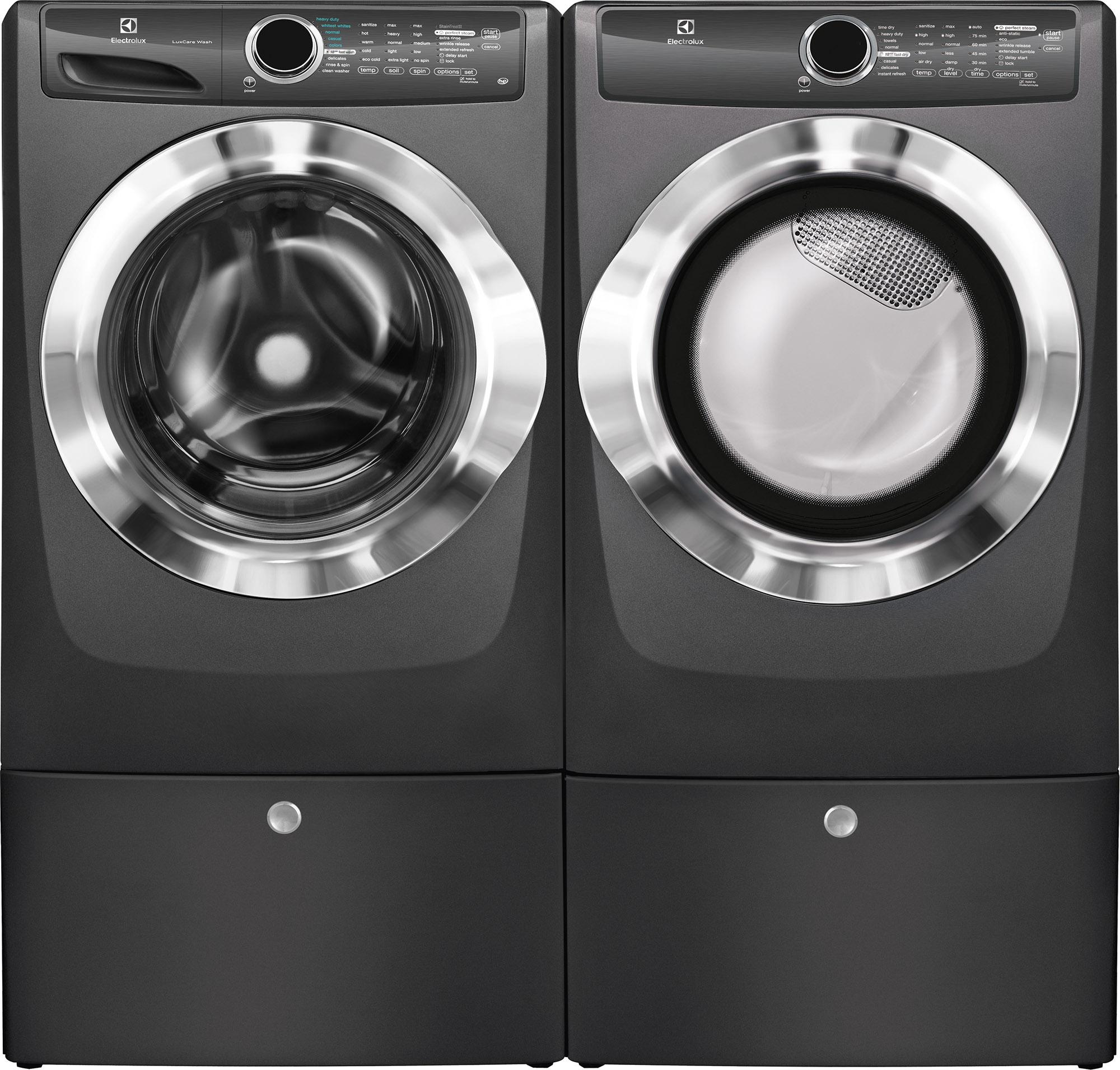Electrolux EFME517STT 8.0 cu. ft. Electric Dryer w/ Instant Refresh - Titanium