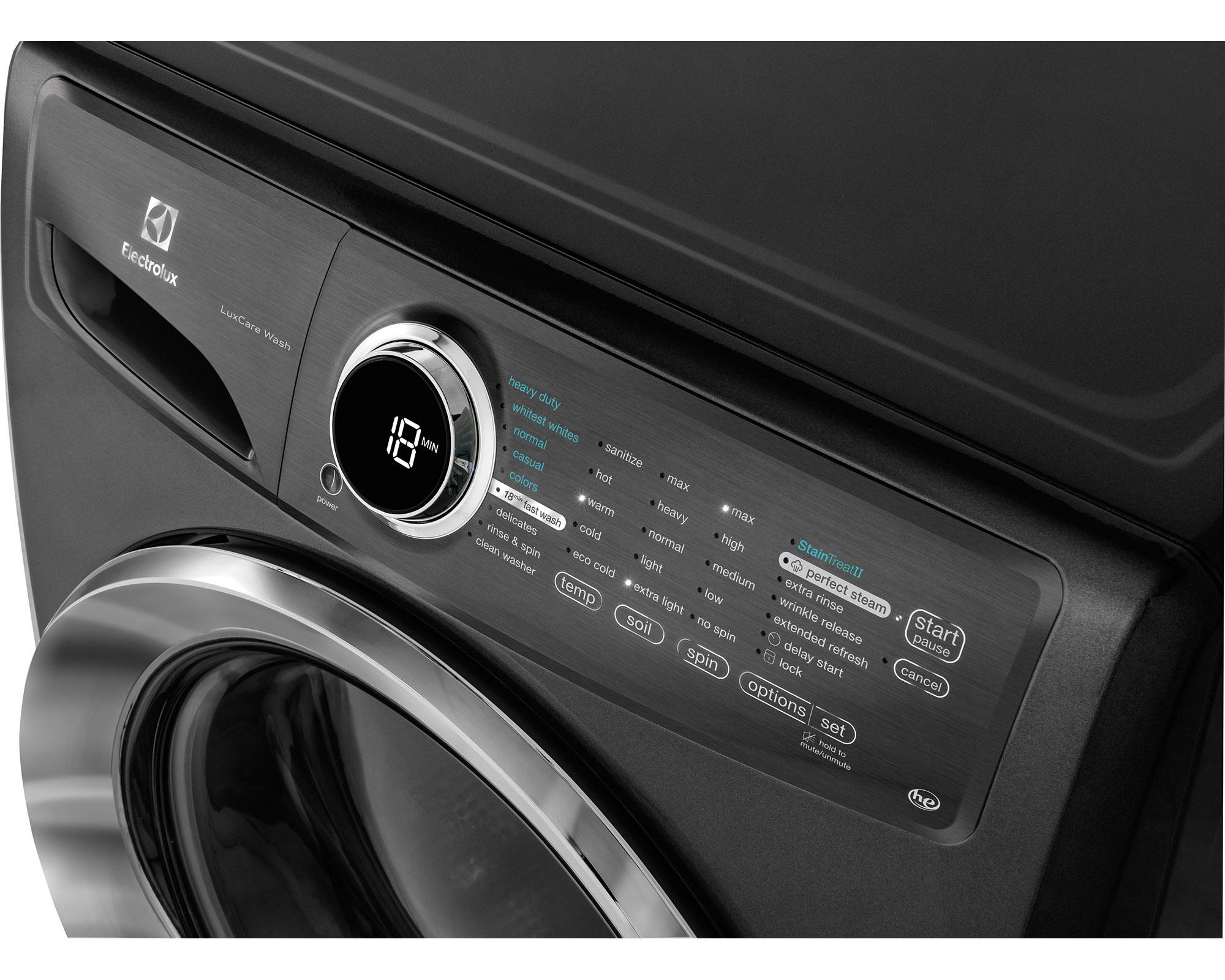 Electrolux EFLS517STT 4.3 cu. ft. Front-Load w/ Perfect Steam™ Washer - Titanium