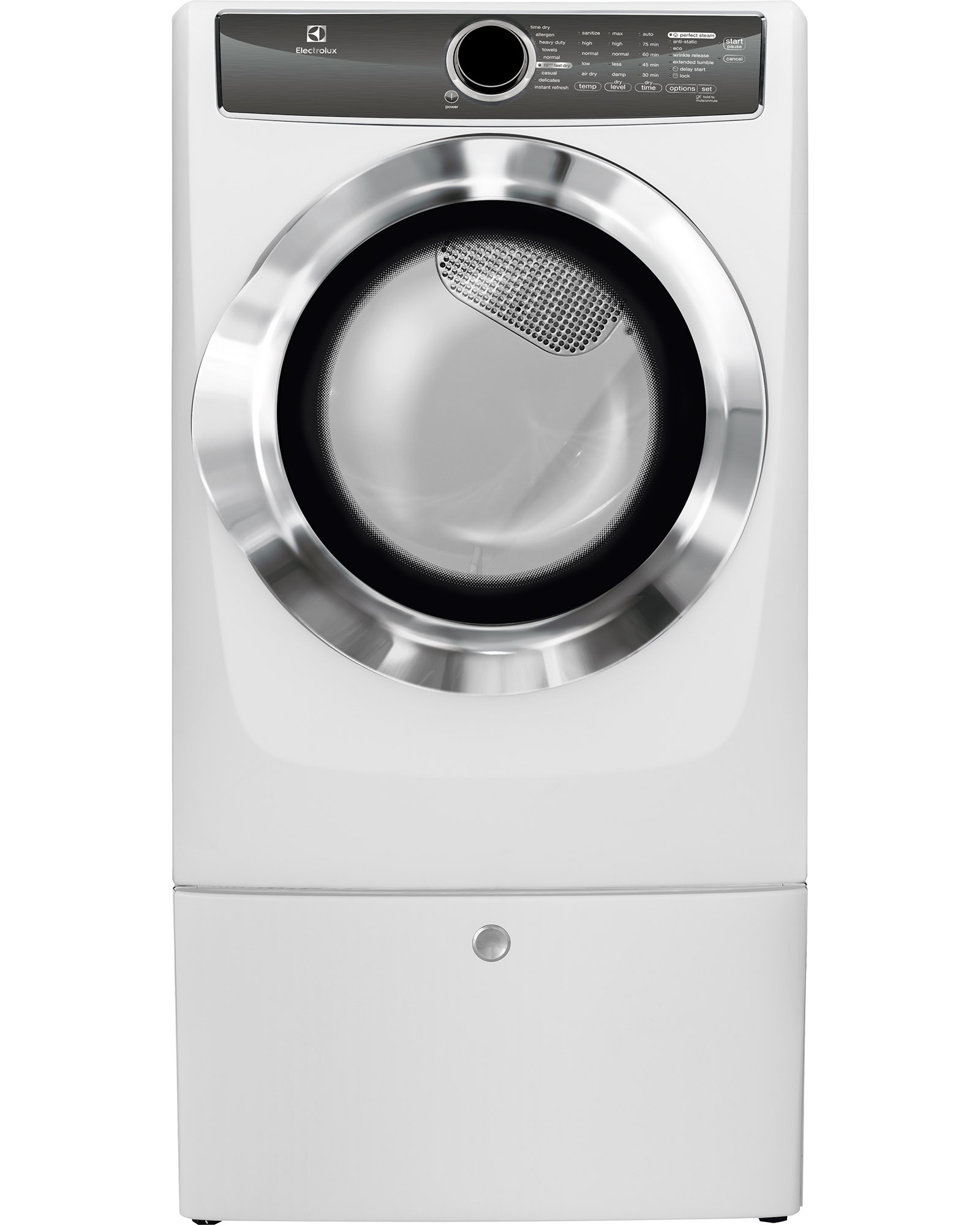 Electrolux EFME617SIW 8.0 cu. ft. Electric Dryer w/ Allergen Cycle - White