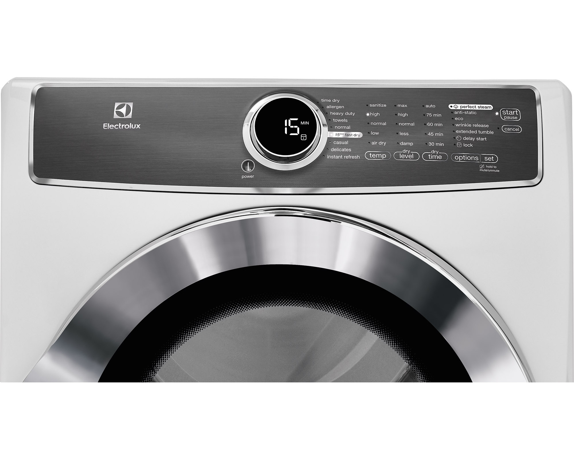 Electrolux EFMG617SIW 8.0 cu. ft. Gas Dryer w/ Allergen Cycle - White