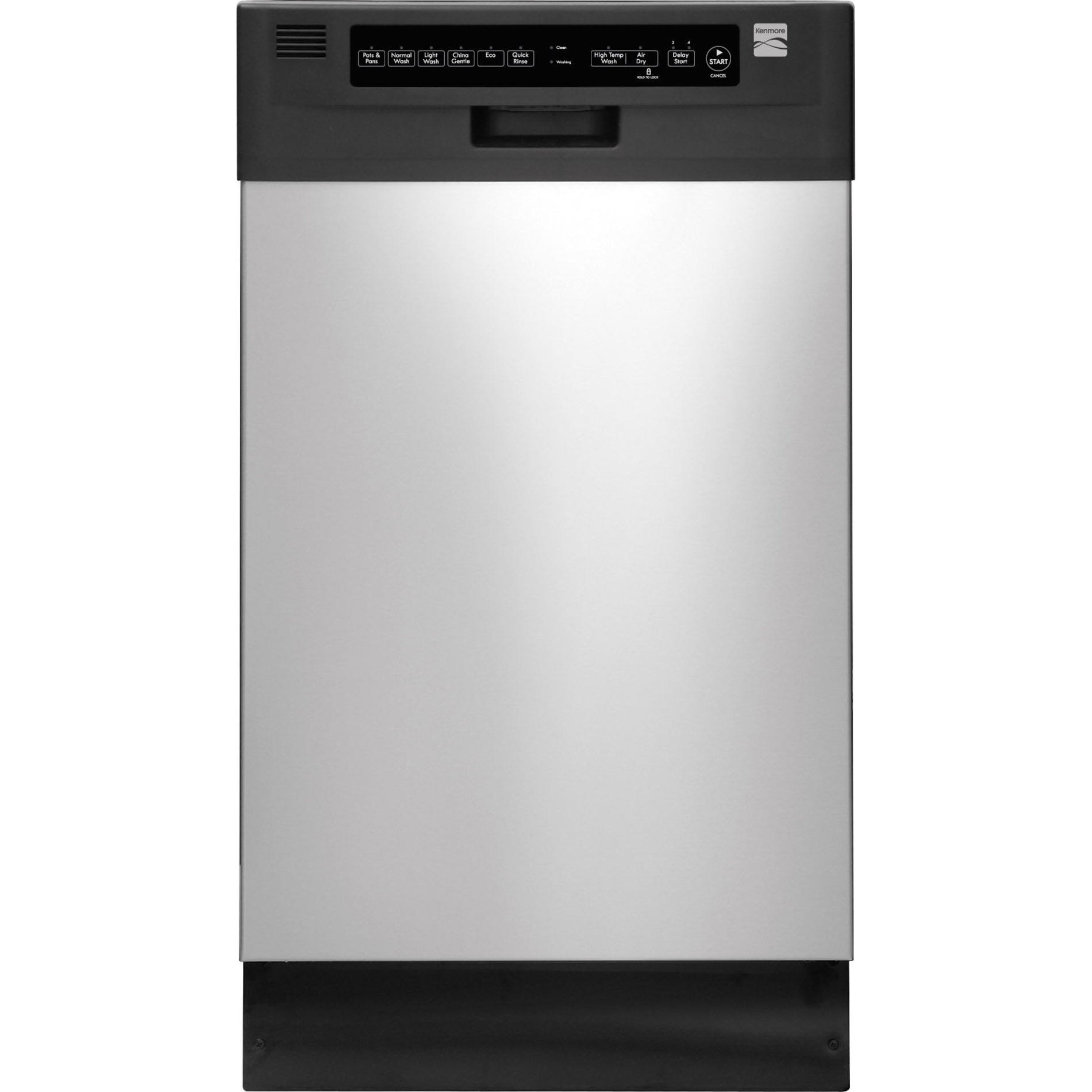 Kenmore 14663 18 Built-In Dishwasher - Stainless Steel