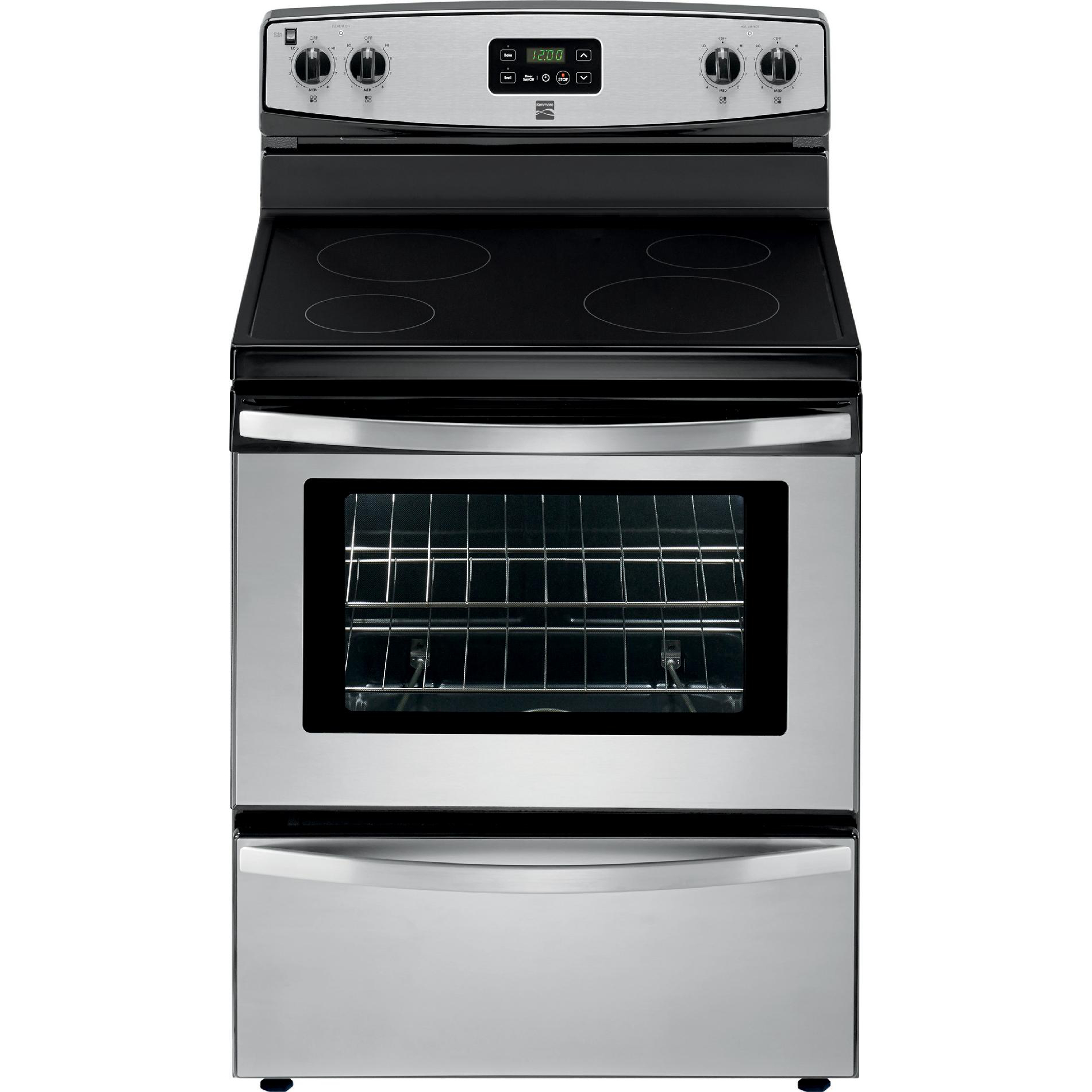 Kenmore 93013 4.9 cu. ft. Electric Freestanding Range - Stainless Steel