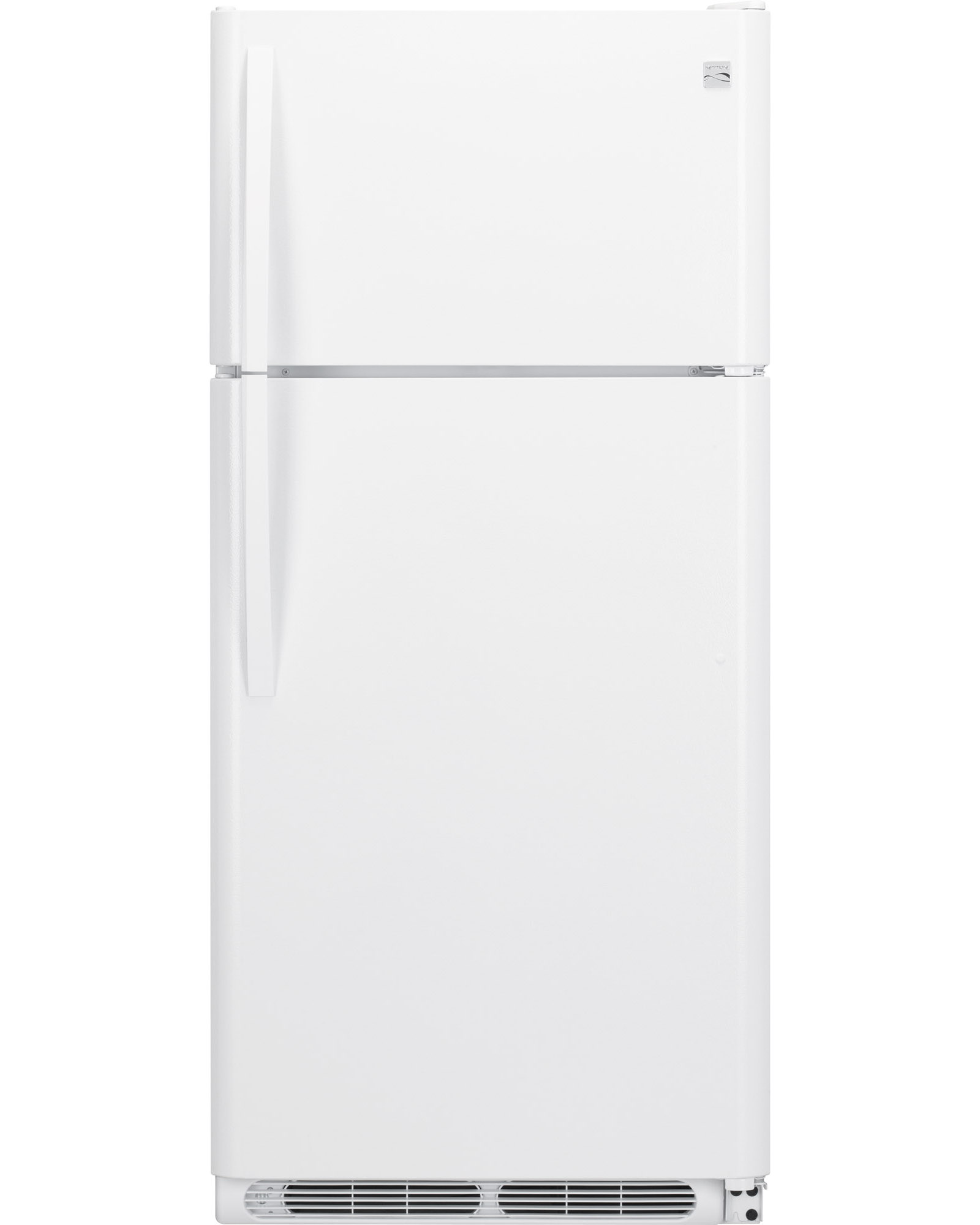 Kenmore 60502 18 cu. ft. Top Freezer Refrigerator w/ Glass Shelves - White