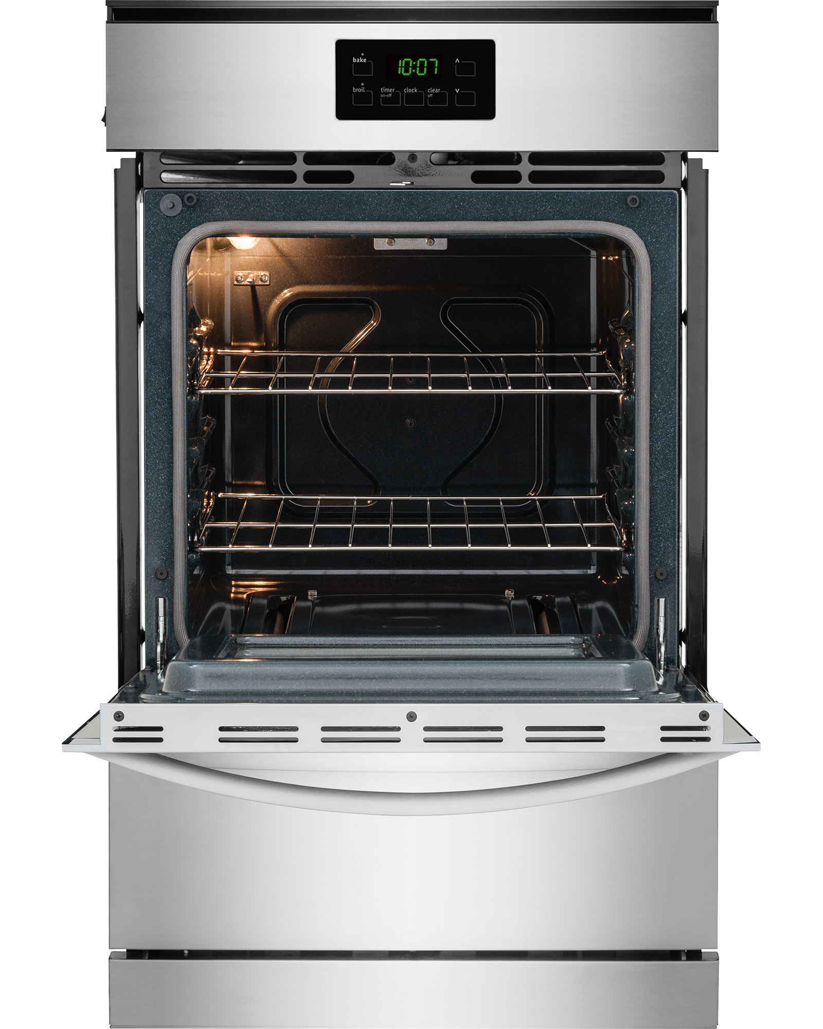 """Frigidaire FFGW2415QS 24"""" Single Wall Gas Oven - Stainless Steel"""