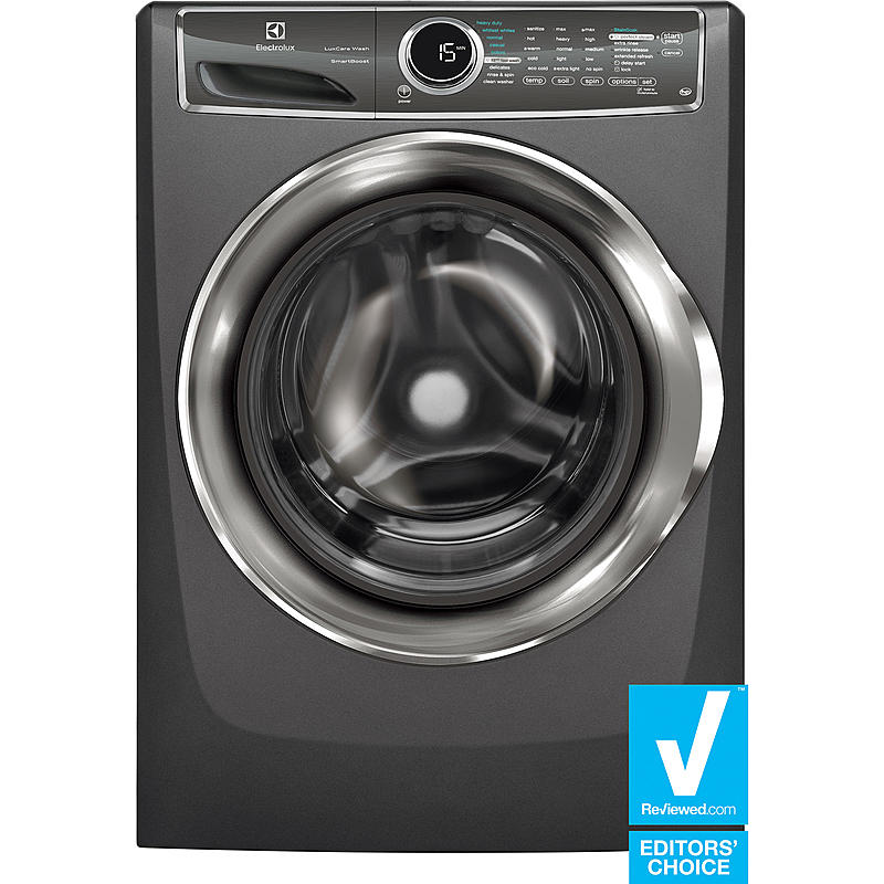 Electrolux EFLS617STT 4.4 cu. ft. Front-Load Perfect Steam™ Washer w/ SmartBoost™ Technology - Titanium