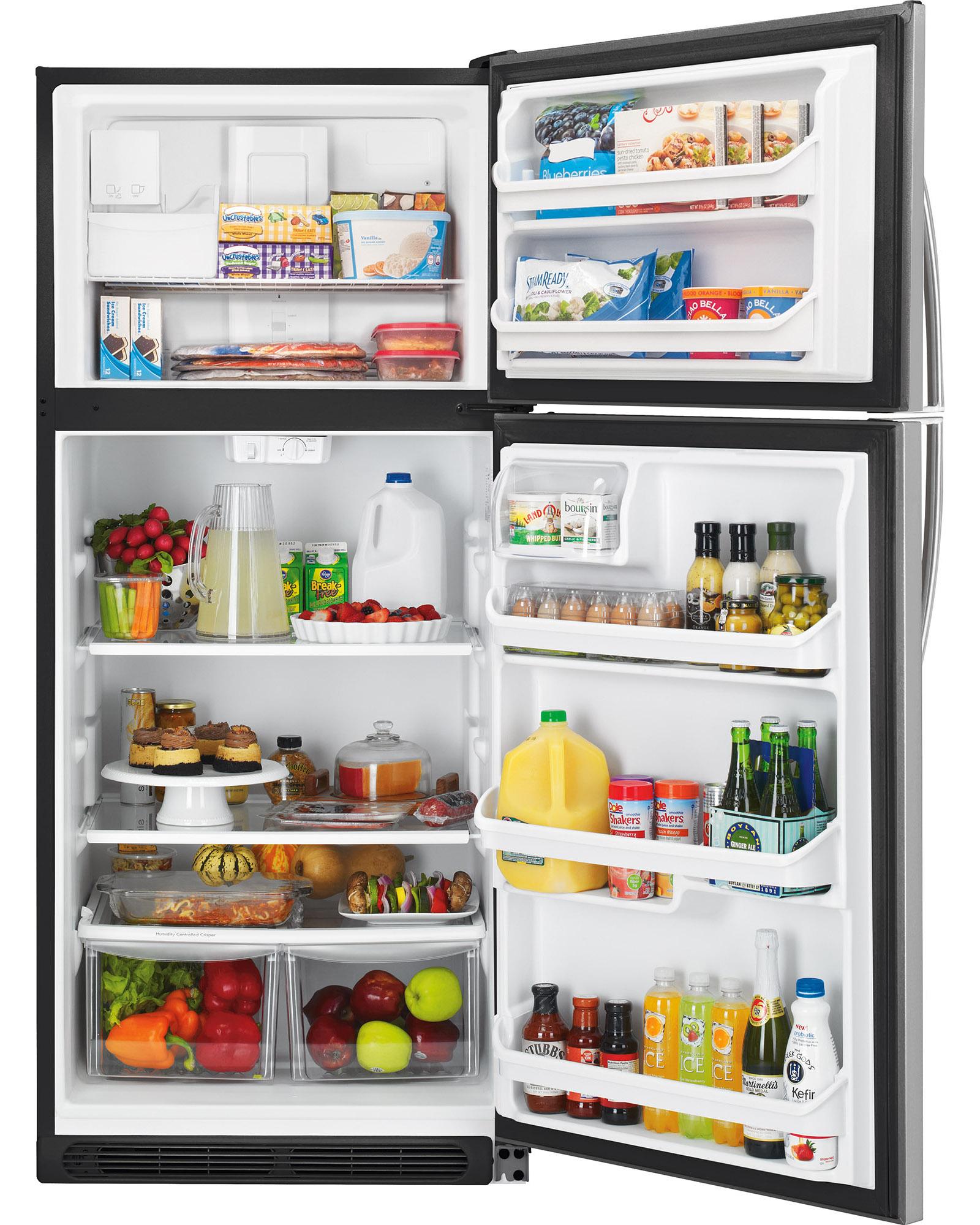 Kenmore 20.4 cu. ft. Top Freezer Refrigerator - Stainless Steel