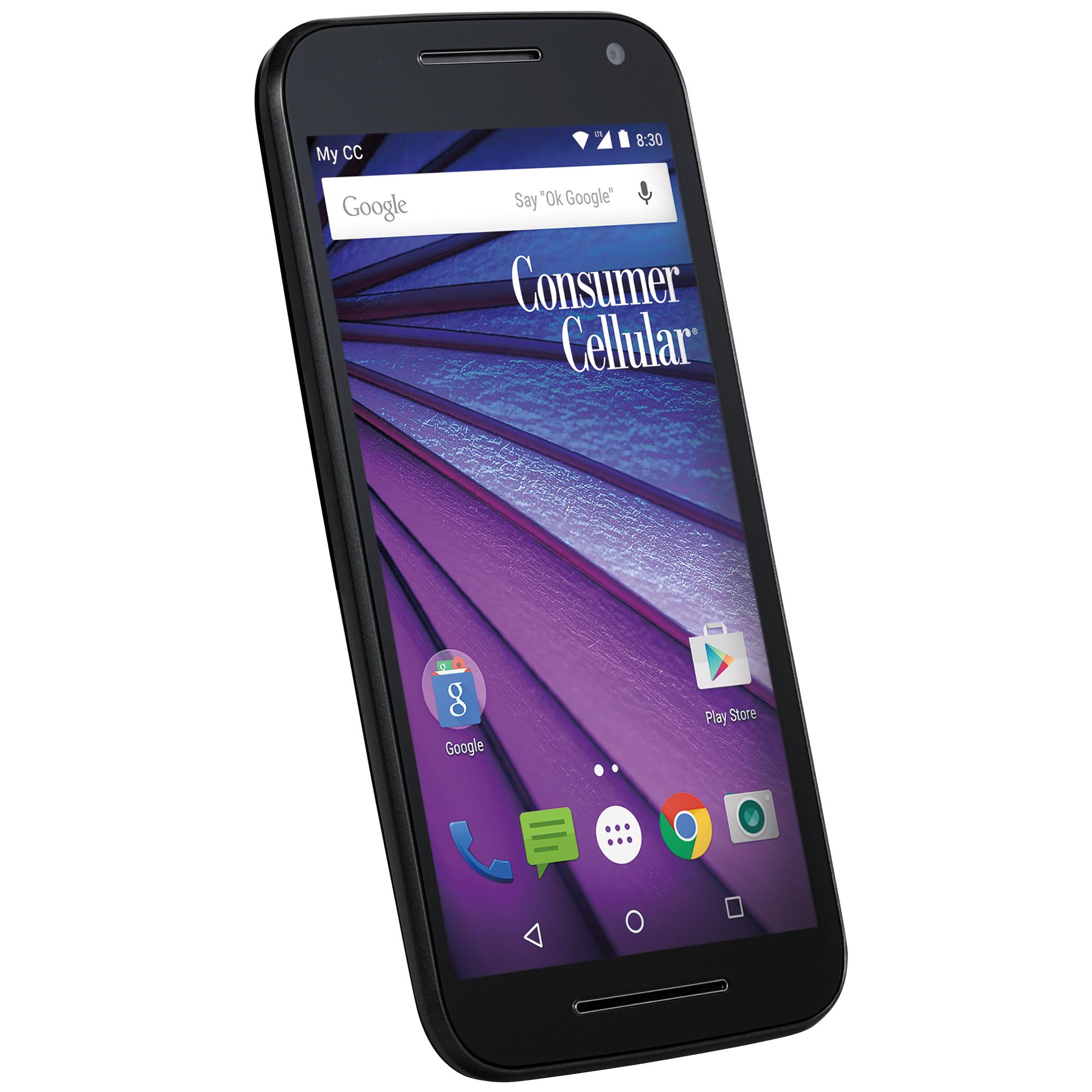 Consumer Cellular Motorola Moto G LTE (3rd Generation)
