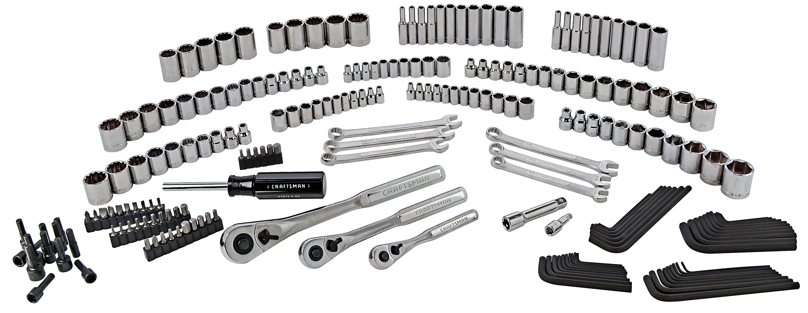 Craftsman 216pc Mechanics Tool Set
