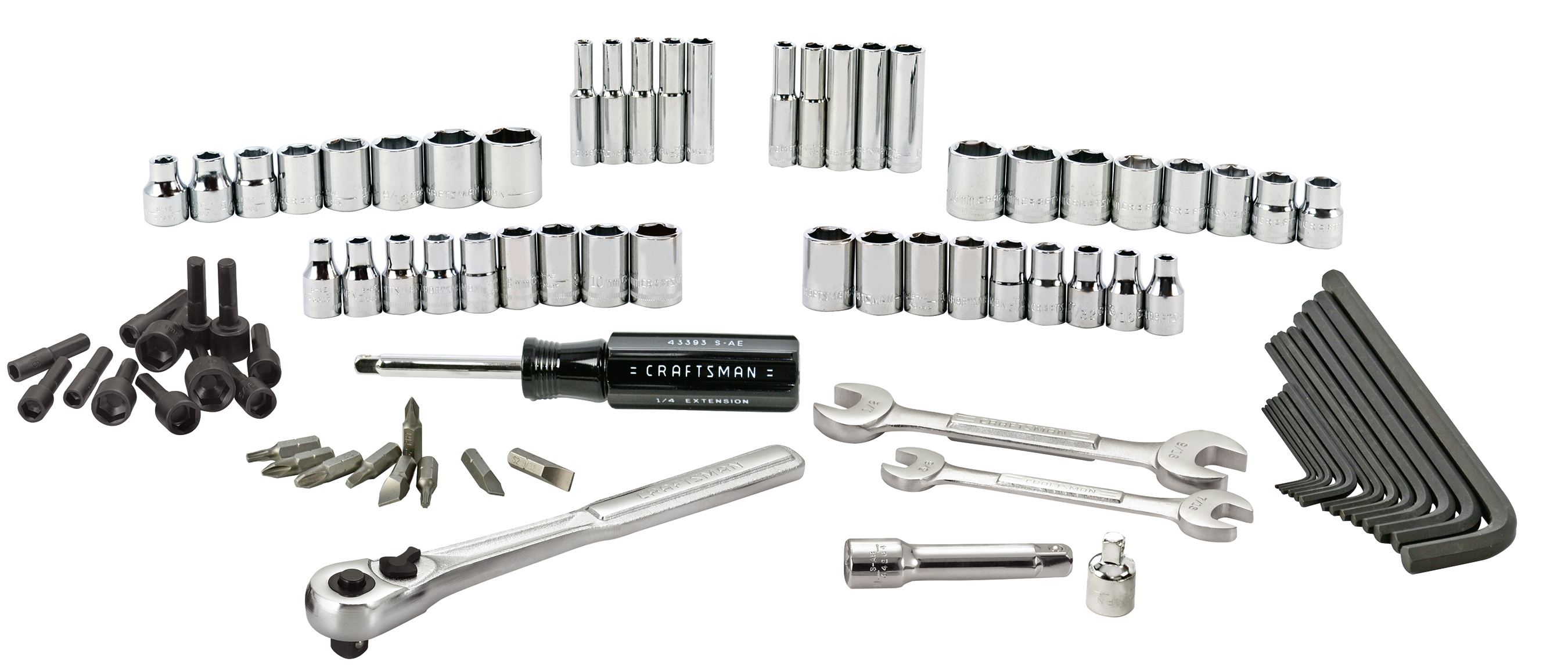 Craftsman 85-pc Mechanics Tool Set