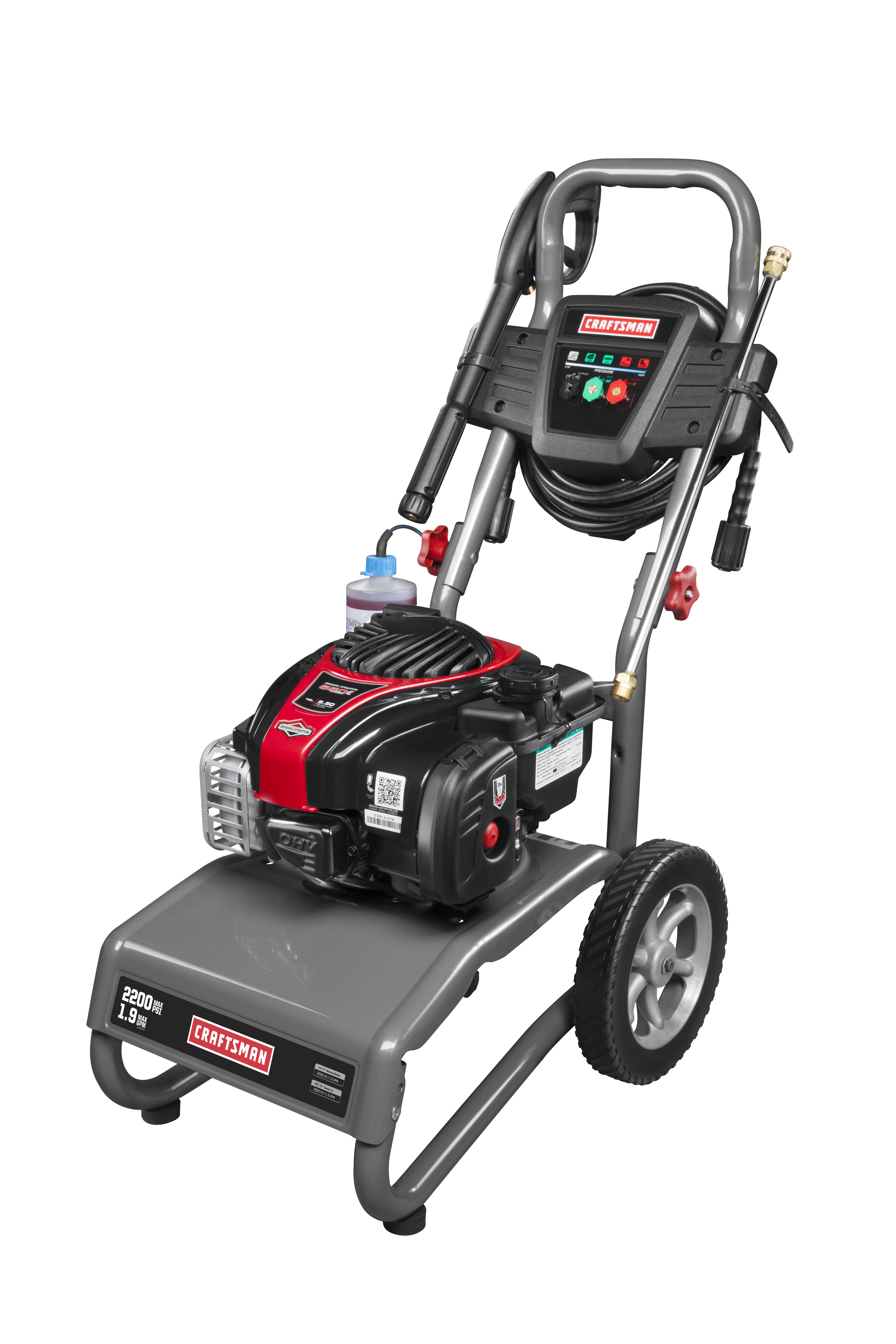 Craftsman 2200 PSI 1.9 GPM Gas-Powered Pressure Washer
