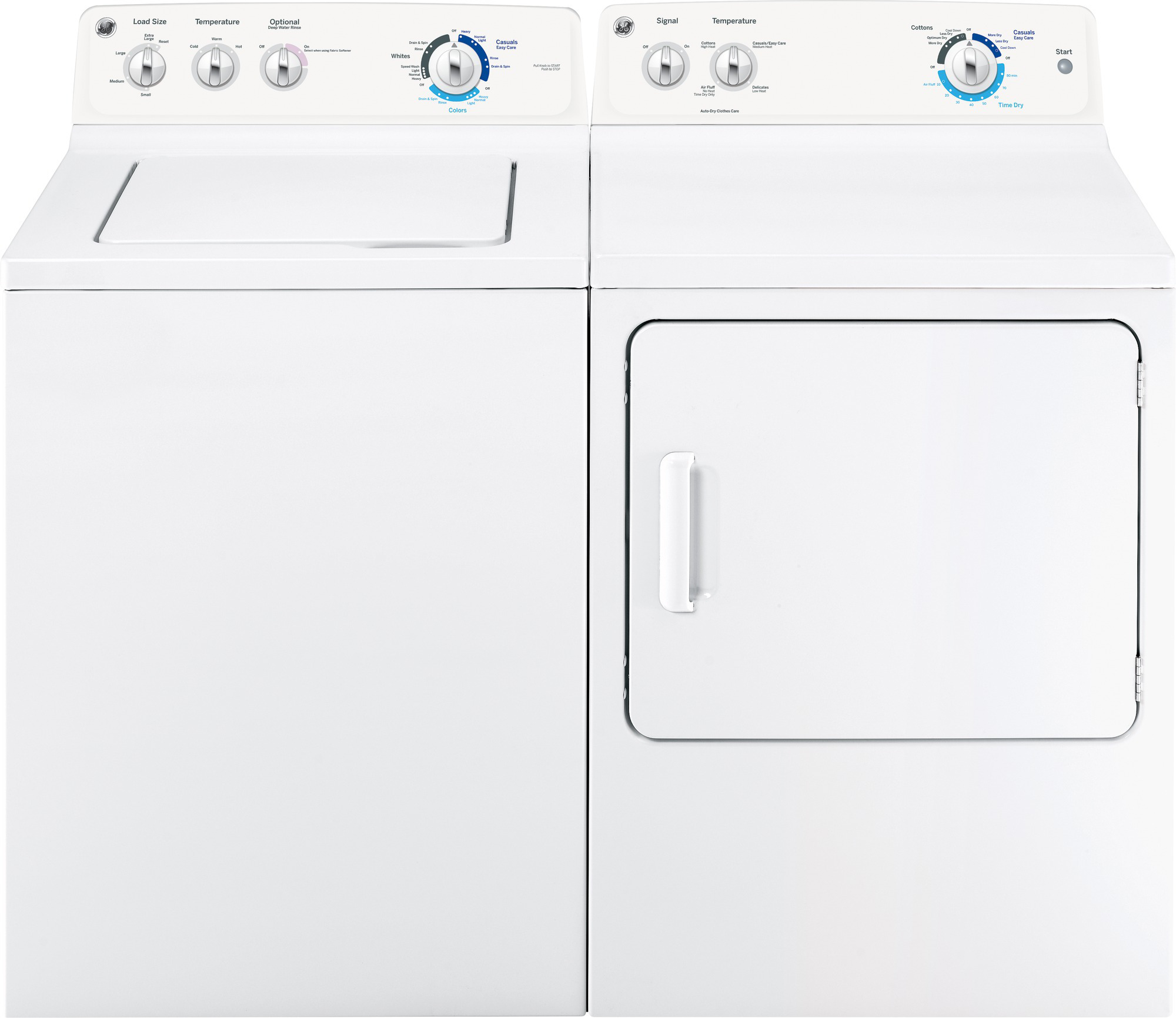 GE Appliances GTW180SSJWW 3.6 cu. ft. Top-Load Washer w/ Extra Action Basket-White