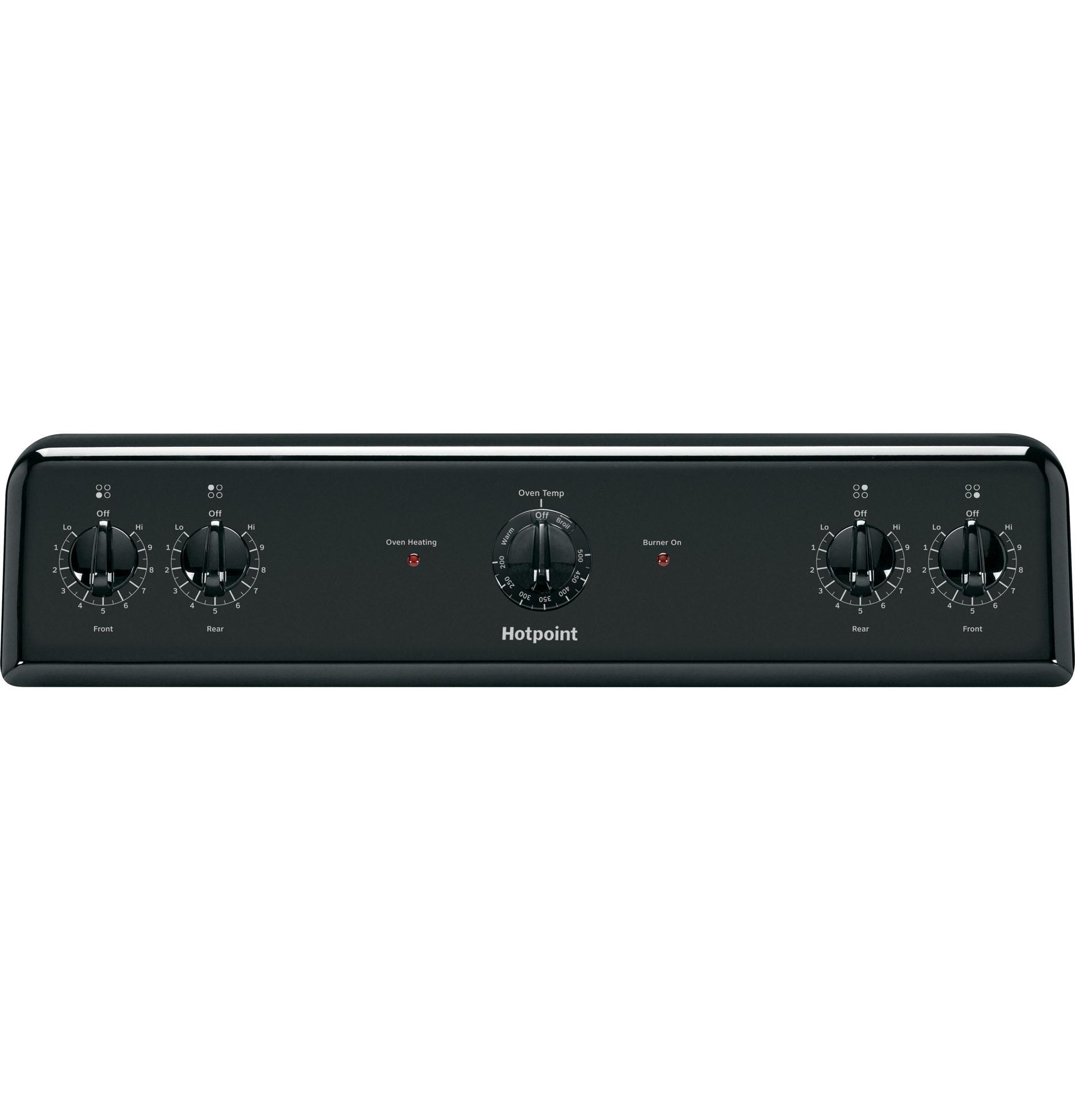Hotpoint RB525DHBB 5.0 cu. ft. Freestanding Electric Range - Black