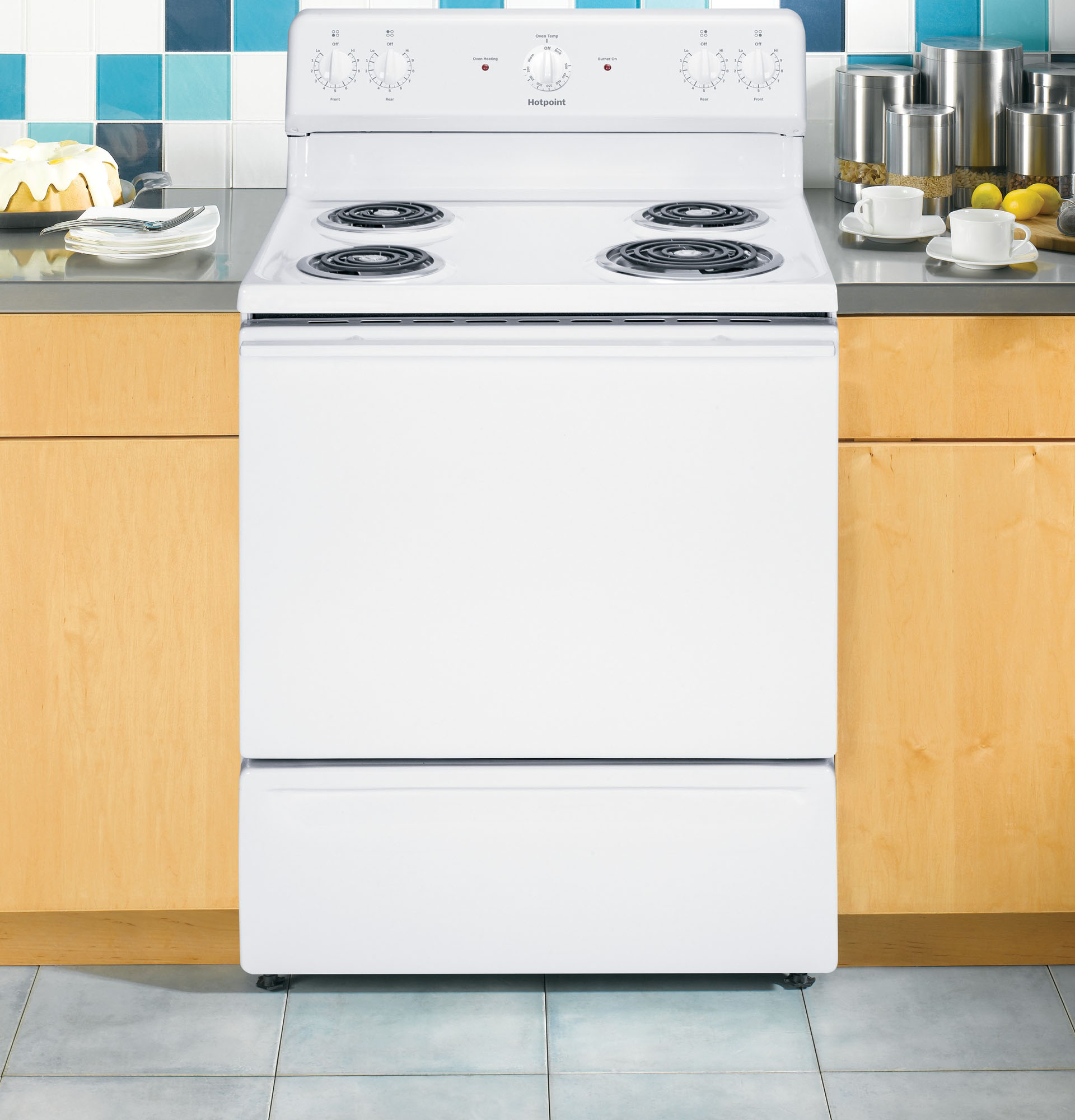 Hotpoint RB525DHWW 5.0 cu. ft. Freestanding Electric Range - White
