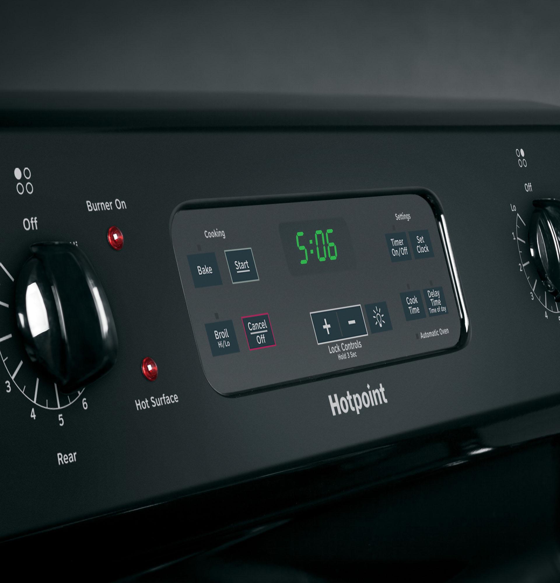 Hotpoint RB560DHBB 5.0 cu. ft. Freestanding Electric Range - Black