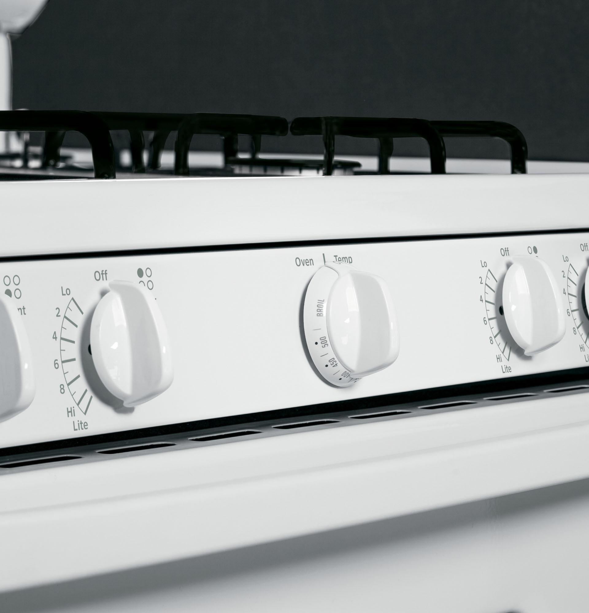 Hotpoint RGB526DEHWW 4.8 cu. ft. Freestanding Gas Range - White