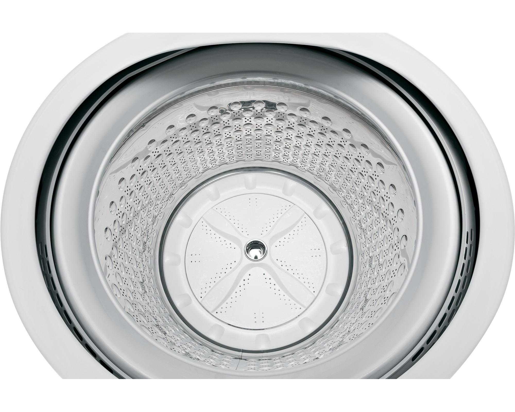 GE Appliances GTW810SPJMC 5.1 cu. ft. Top-Load Washer w/ Stainless Steel Basket - Metallic