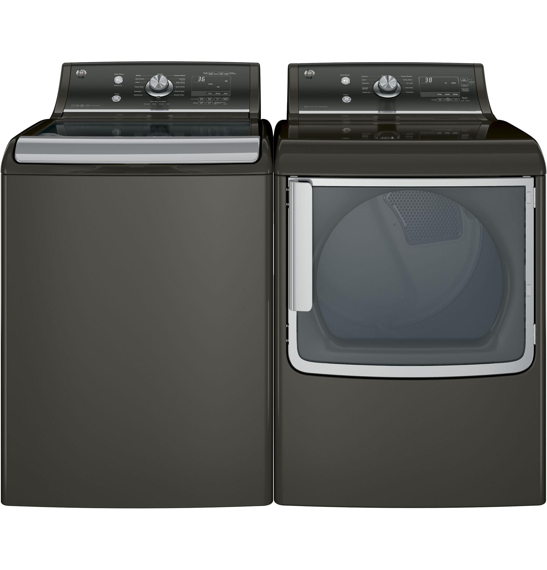 GE Appliances GTD81ESPJMC 7.8 cu. ft. Electric Dryer - Metallic