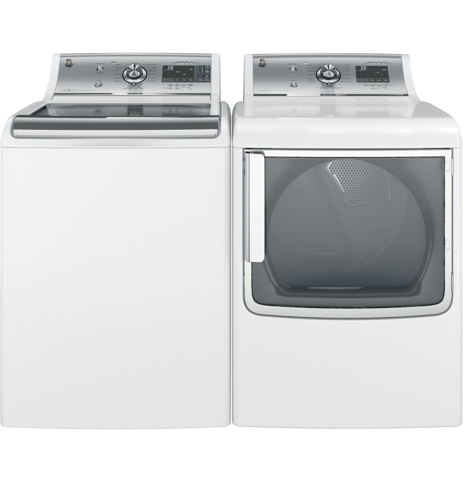 GE Appliances GTD86ESSJWS 7.8 cu. ft. Electric Dryer - White