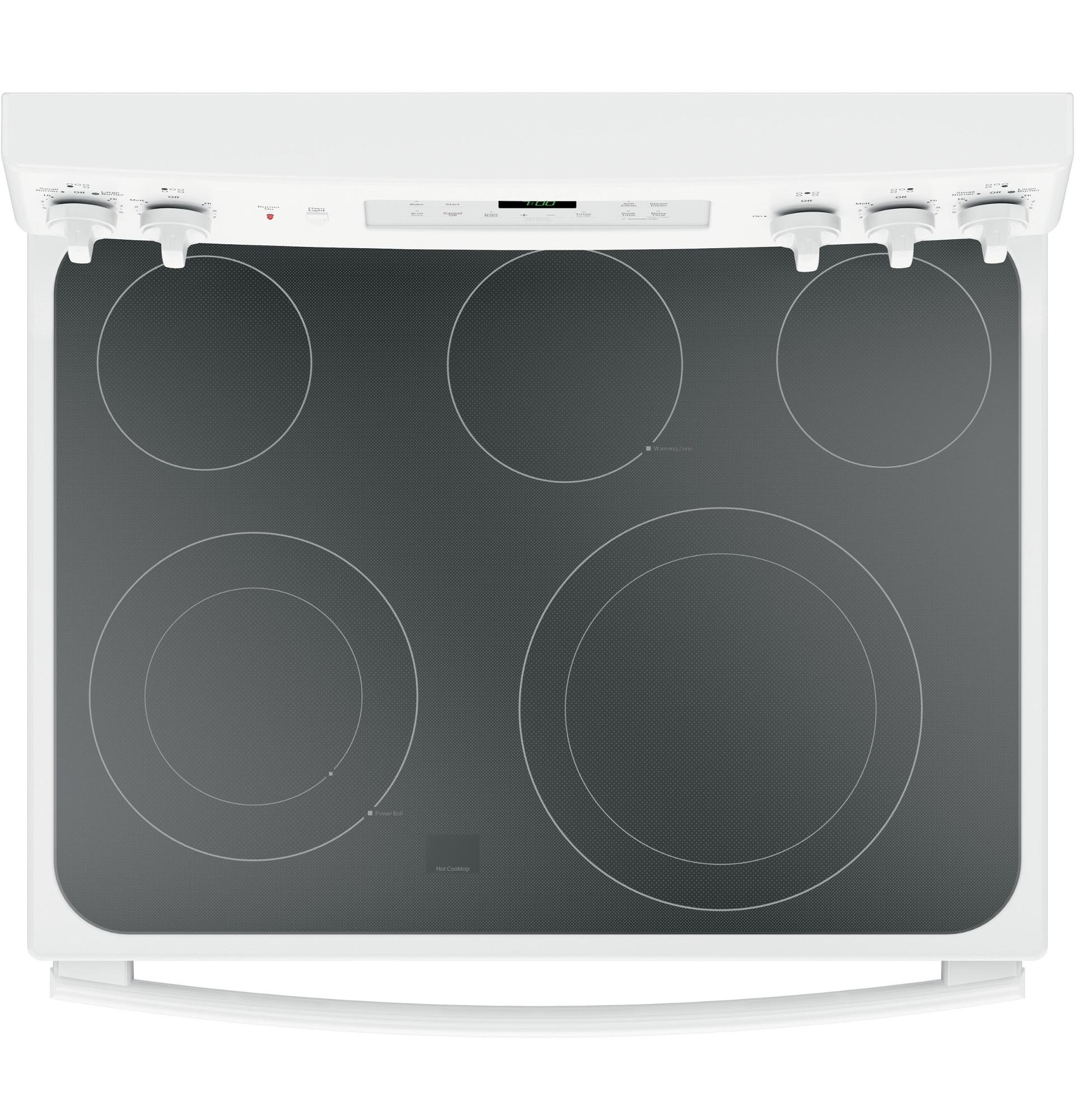 GE Appliances JB700DJWW 5.3 cu. ft. Freestanding Electric Convection Range - White