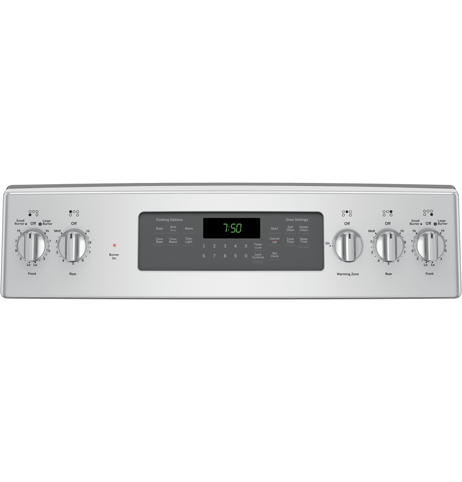 GE Appliances JB750SJSS 5.3 cu. ft. Freestanding Electric Range w/ True Convection - Stainless Steel