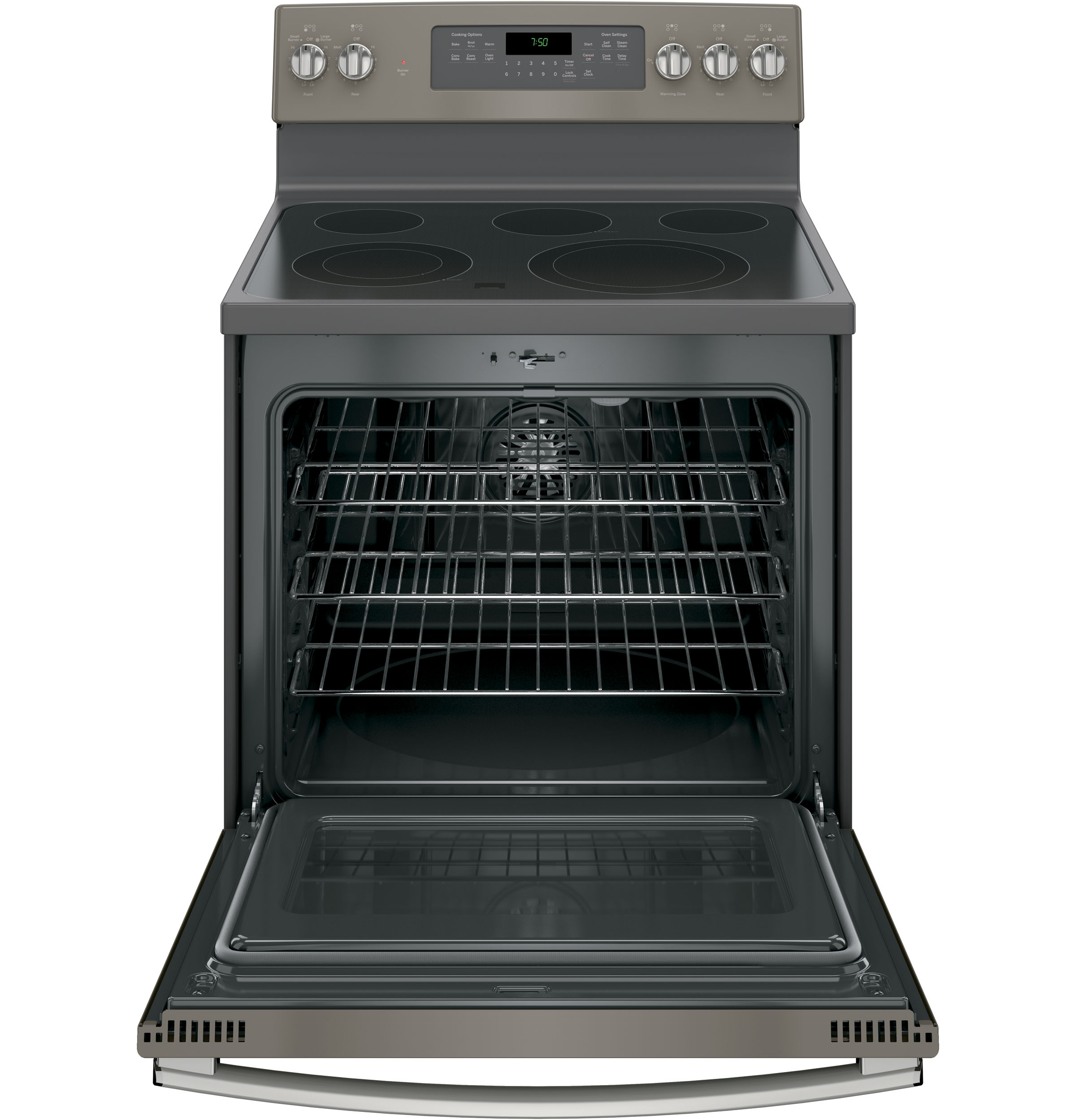 GE Appliances JB750EJES 5.3 cu. ft. Freestanding Electric Range w/ True Convection - Slate