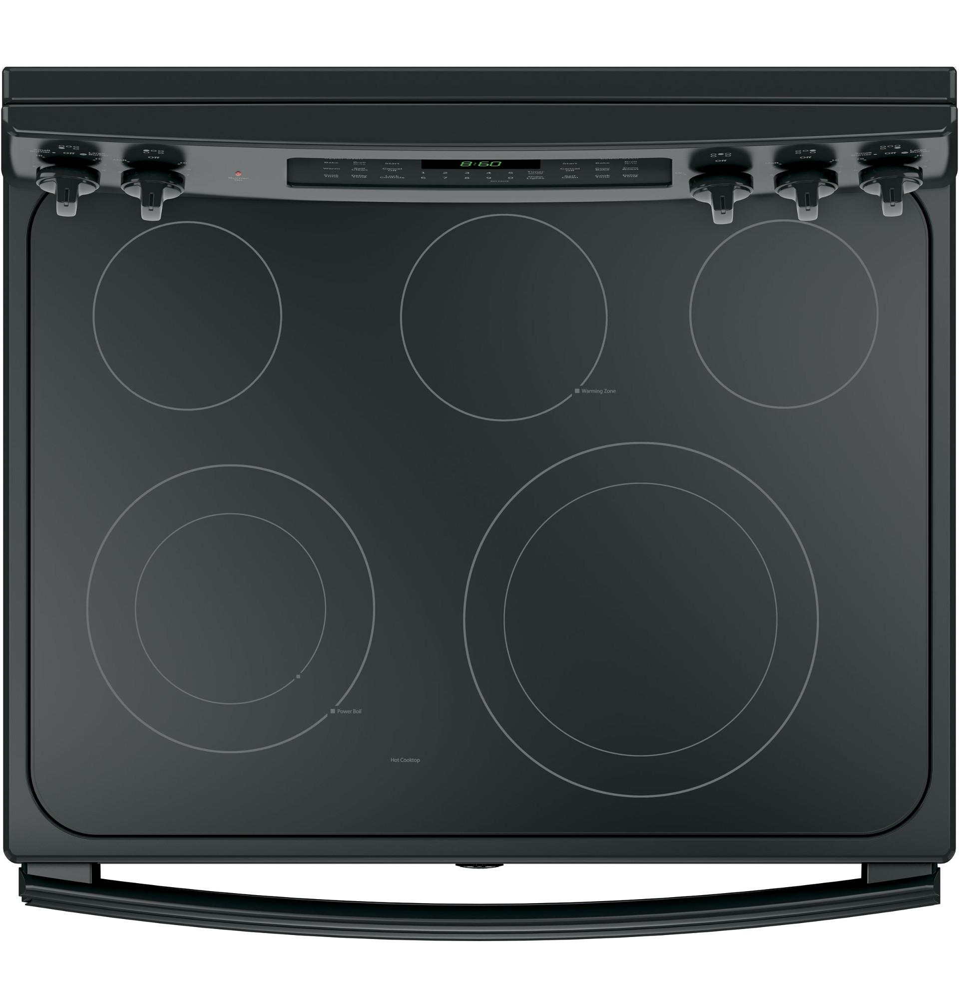 GE Appliances JB860DJBB 6.6 cu. ft. Freestanding Electric Double Oven Convection Range - Black