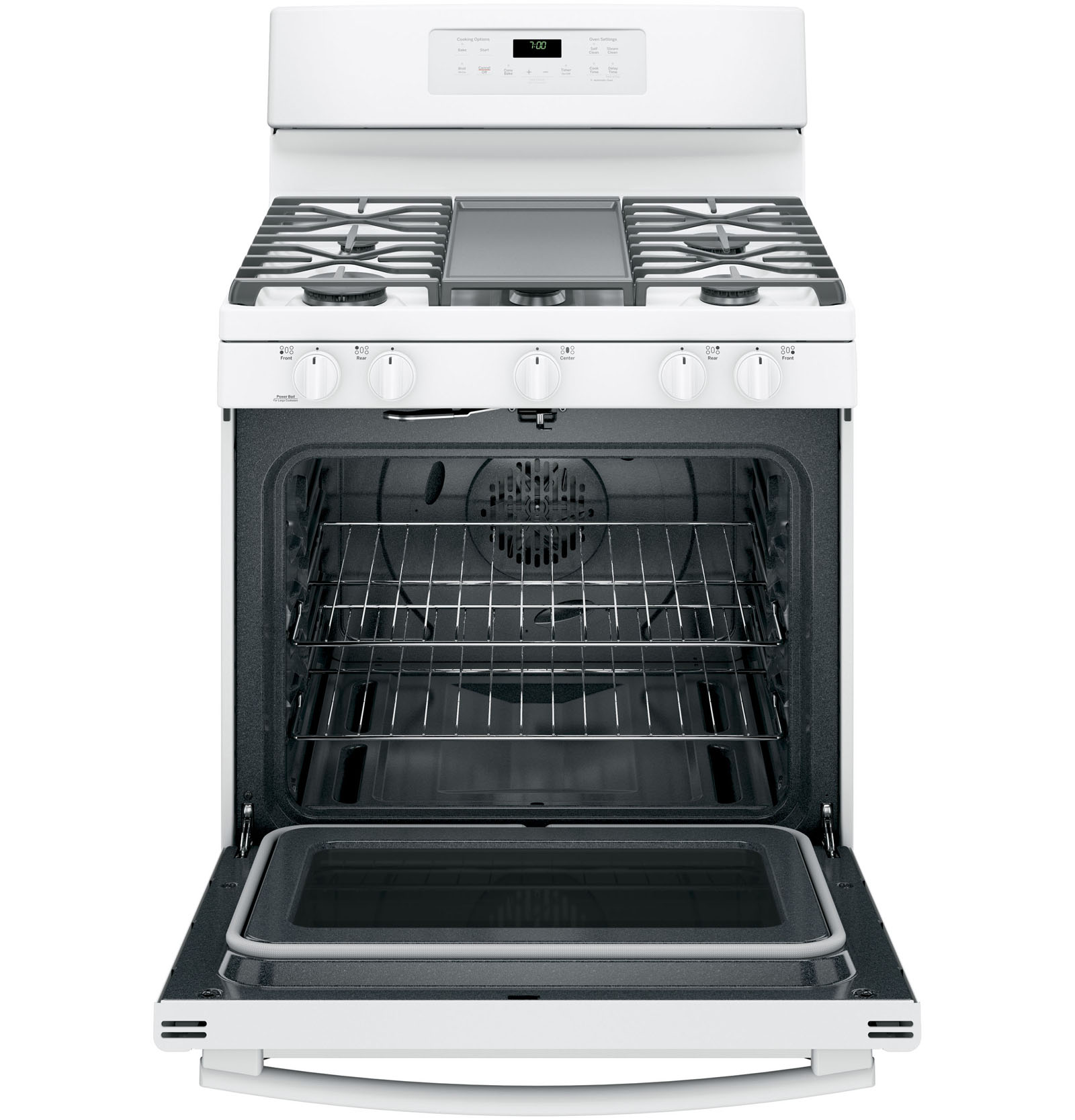 GE Appliances JGB700DEJWW 5.0 cu .ft. Freestanding Gas Convection Range - White