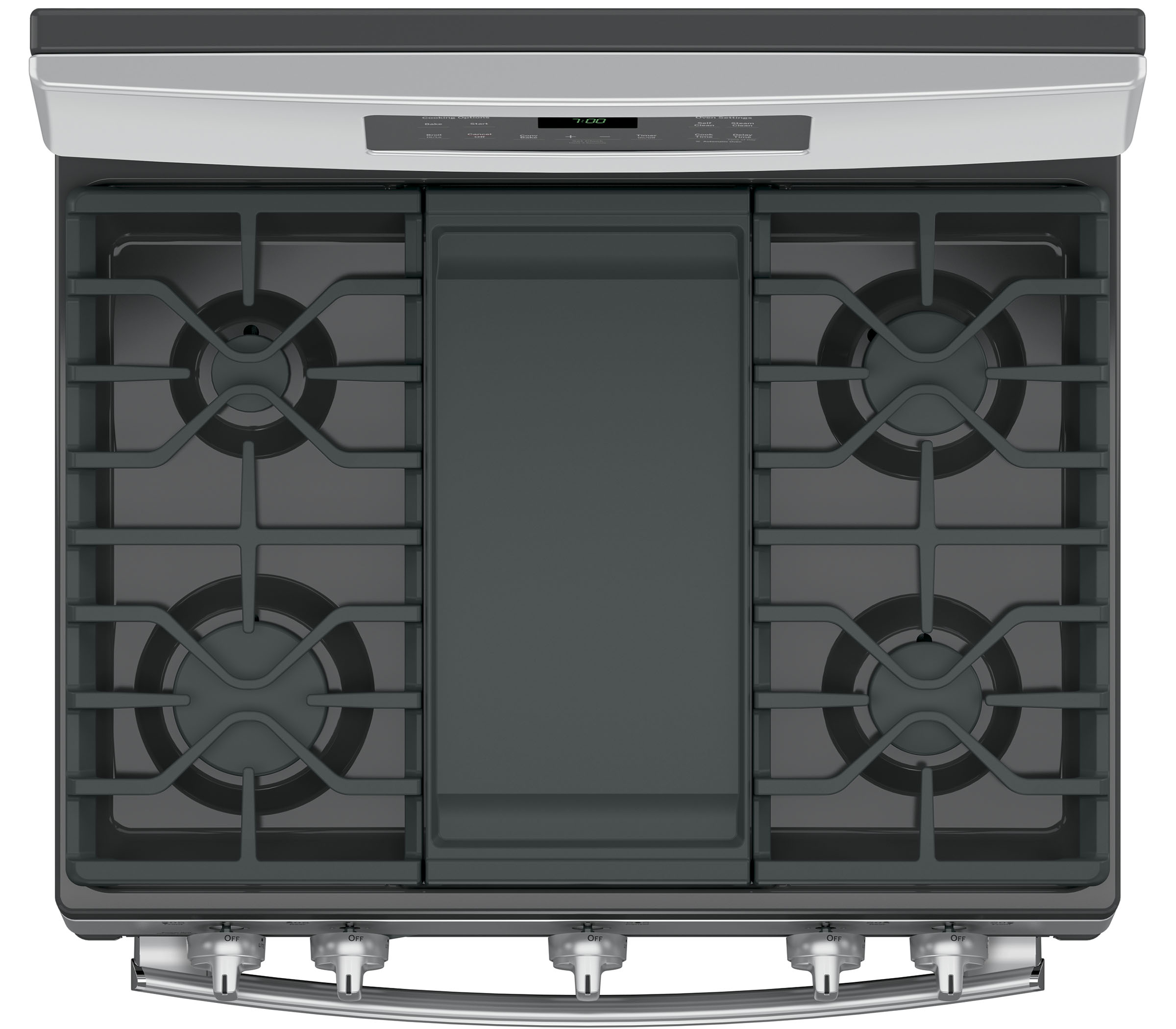 GE Appliances JGB700SEJSS 5.0 cu .ft. Freestanding Gas Convection Range - Stainless Steel