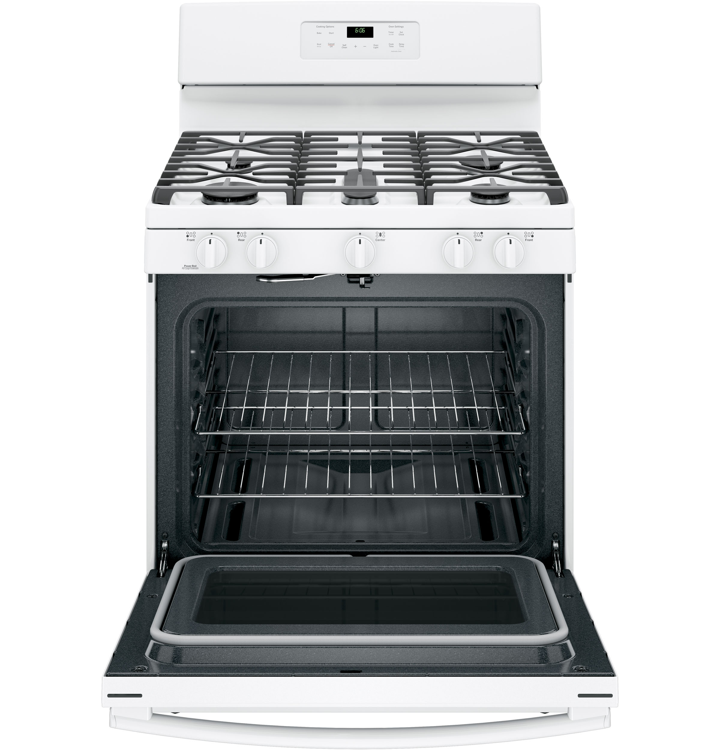 GE Appliances JGB660DEJWW 5.0 cu .ft. Freestanding Gas Range - White