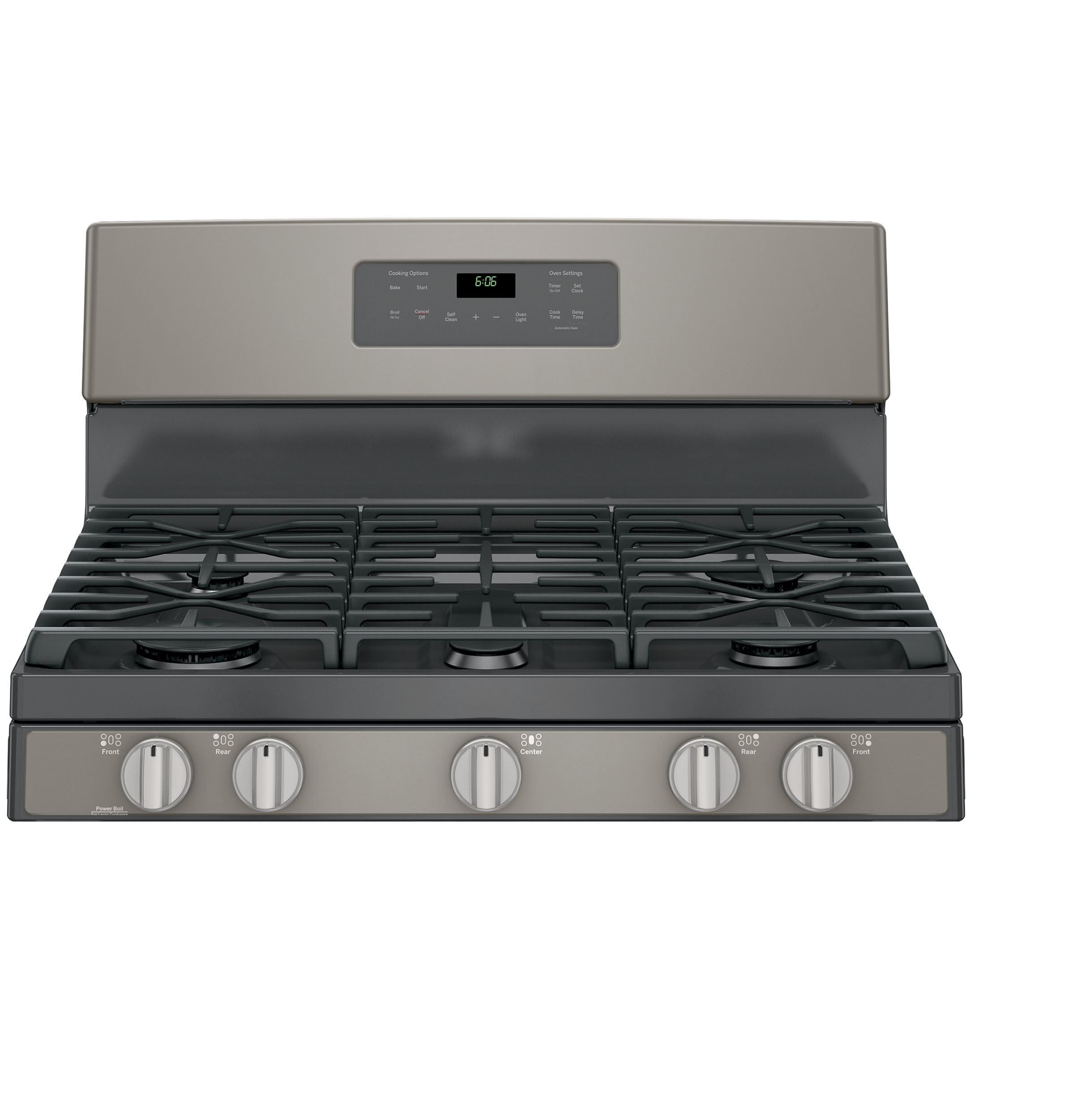 GE Appliances JGB660EEJES 5.0 cu .ft. Freestanding Gas Range - Slate