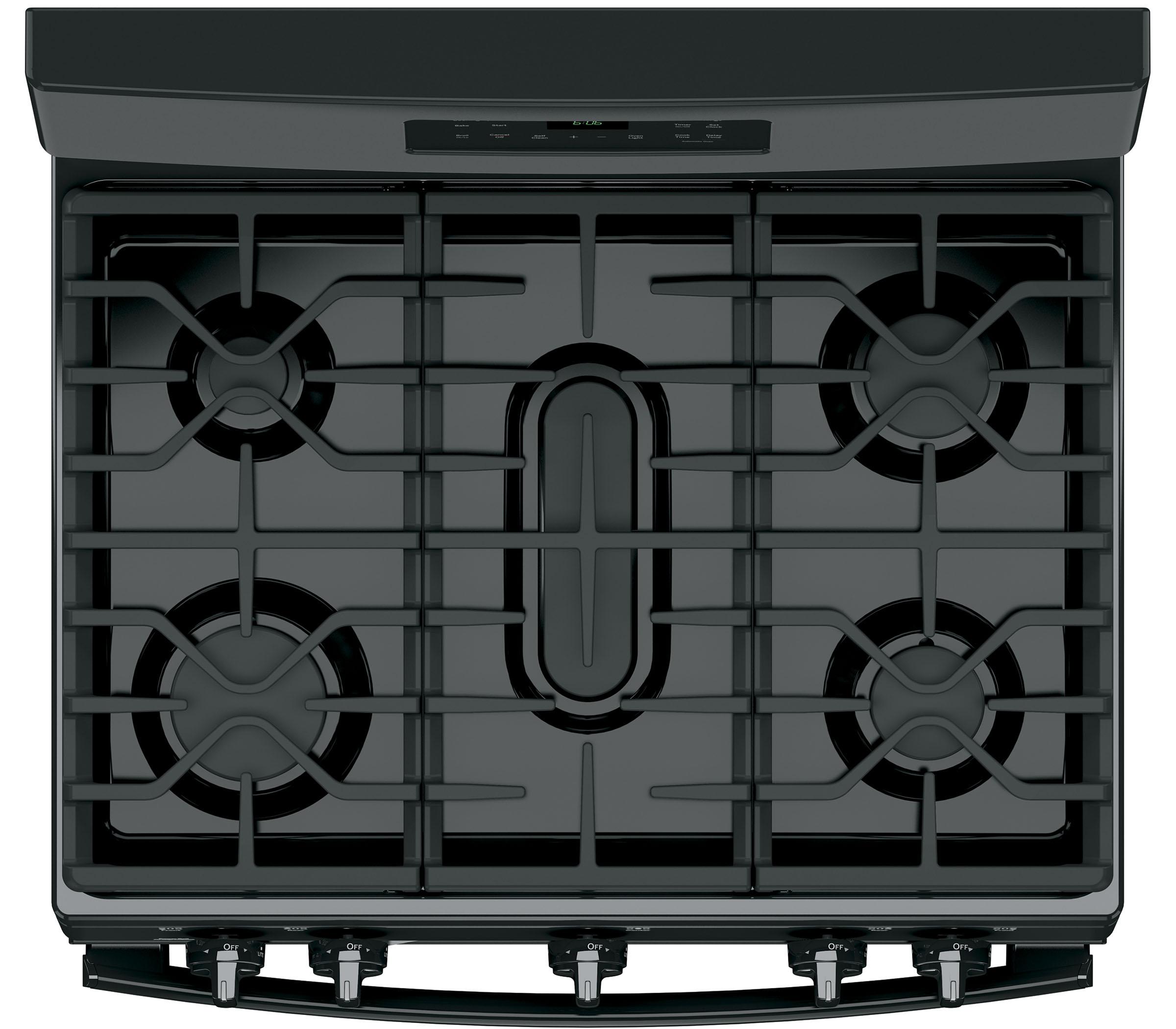 GE Appliances JGB660DEJBB 5.0 cu .ft. Freestanding Gas Range - Black