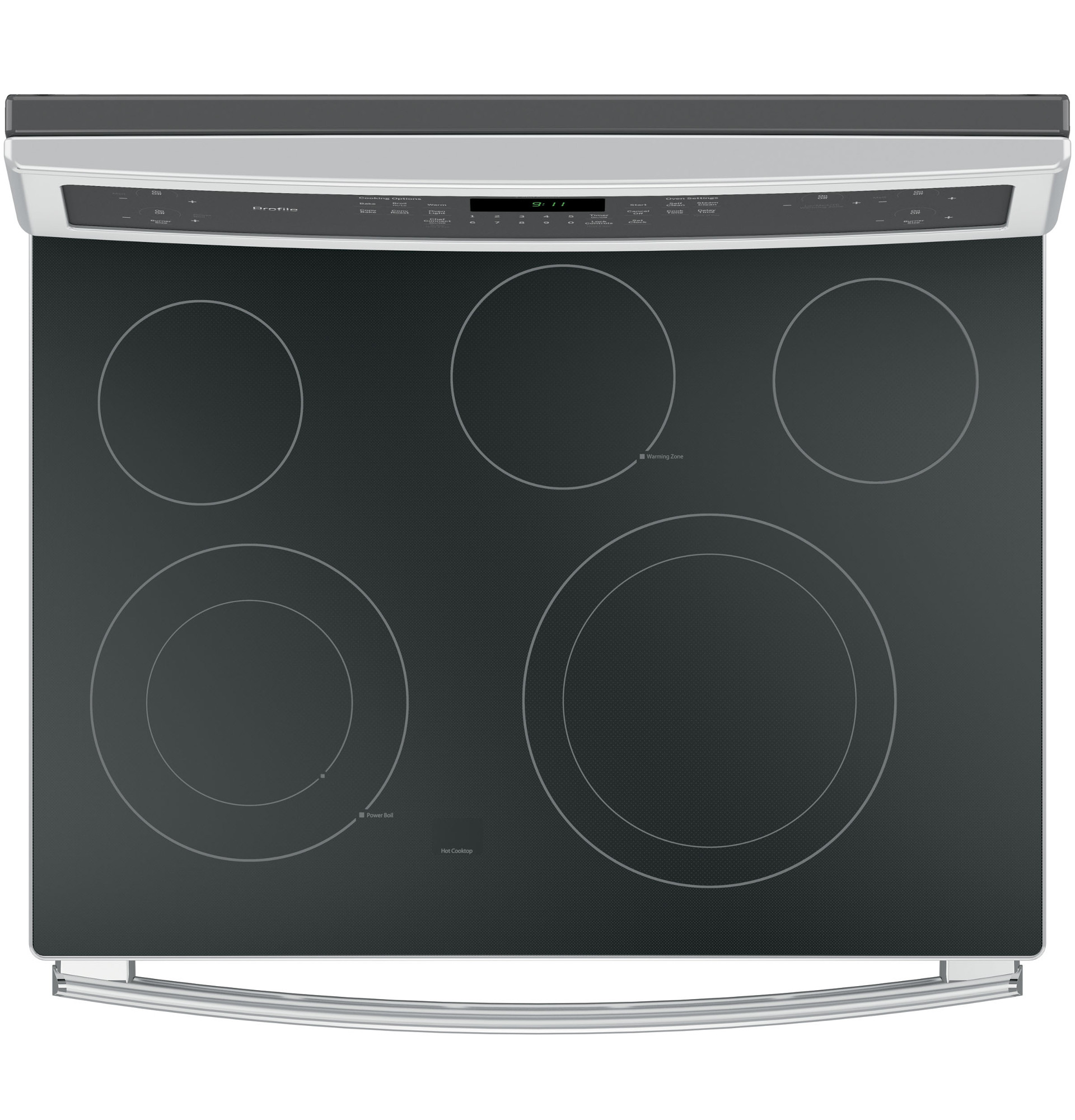 GE Profile PB911SJSS 5.3 cu. ft. Freestanding Electric Convection Range - Stainless Steel