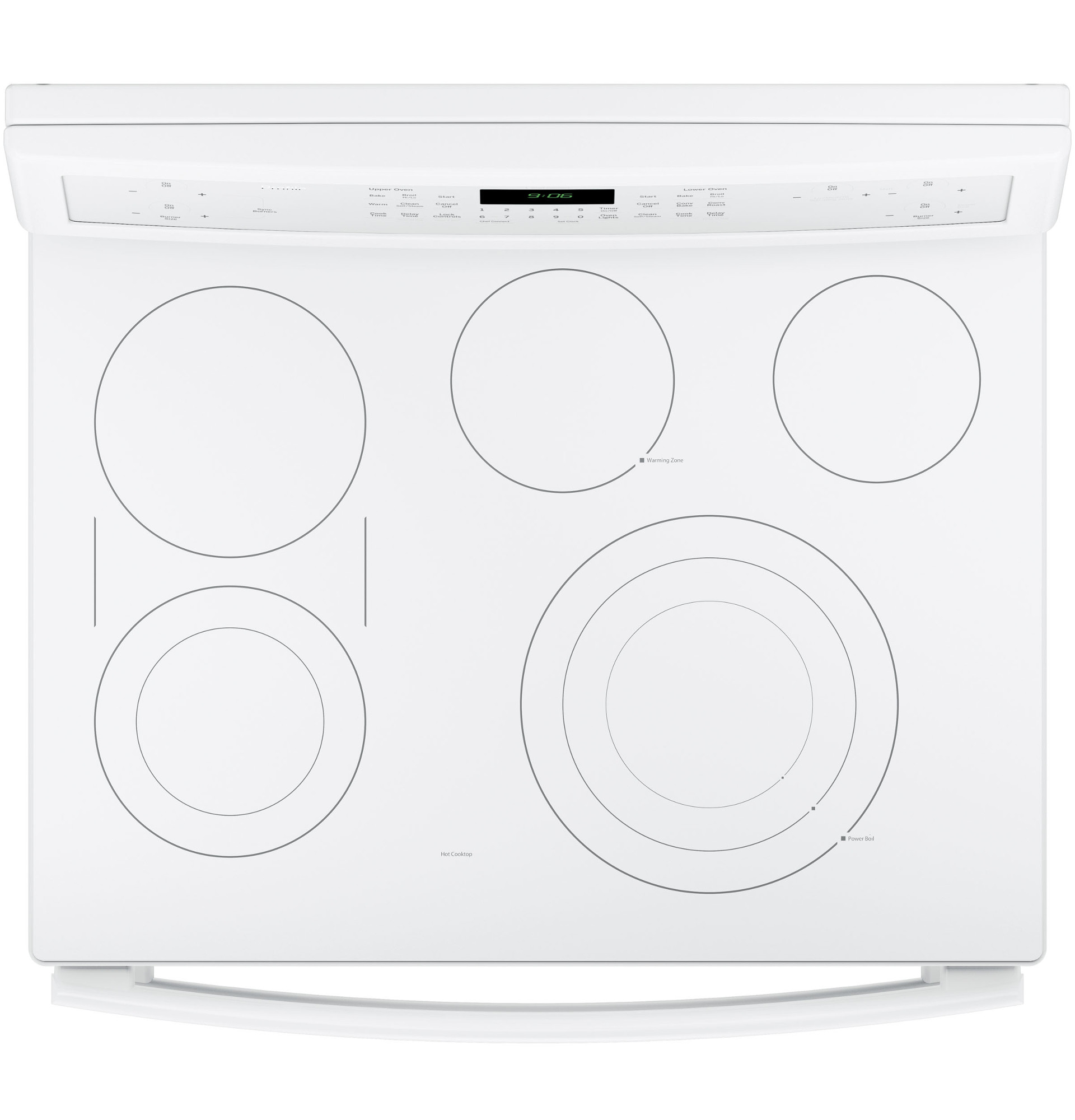 GE Profile PB960TJWW 6.6 cu. ft. Electric Range w/ Double Convection Oven - White