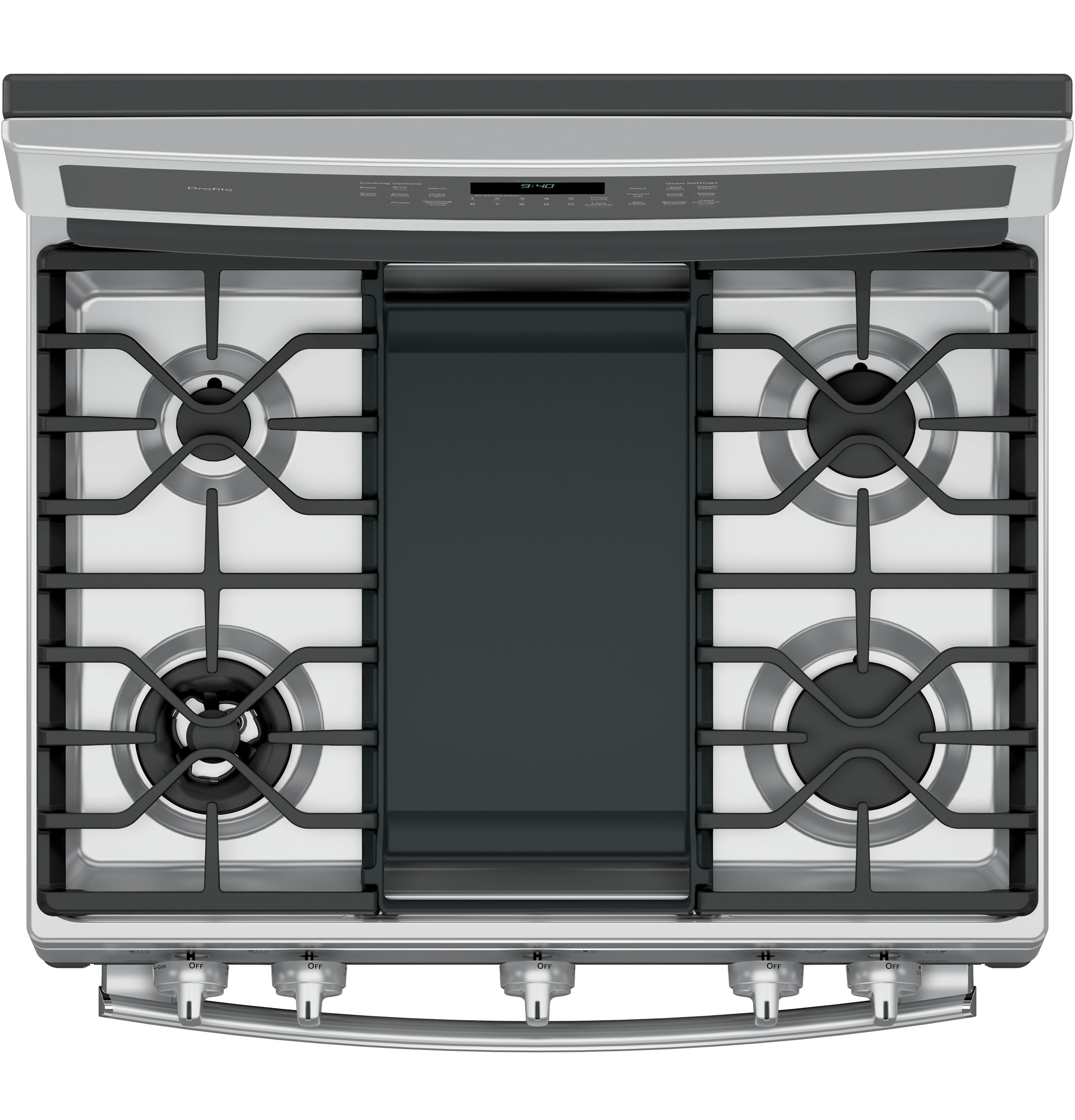 GE Profile PGB940ZEJSS 5.6 cu. ft. Freestanding Gas Convection Range - Stainless Steel