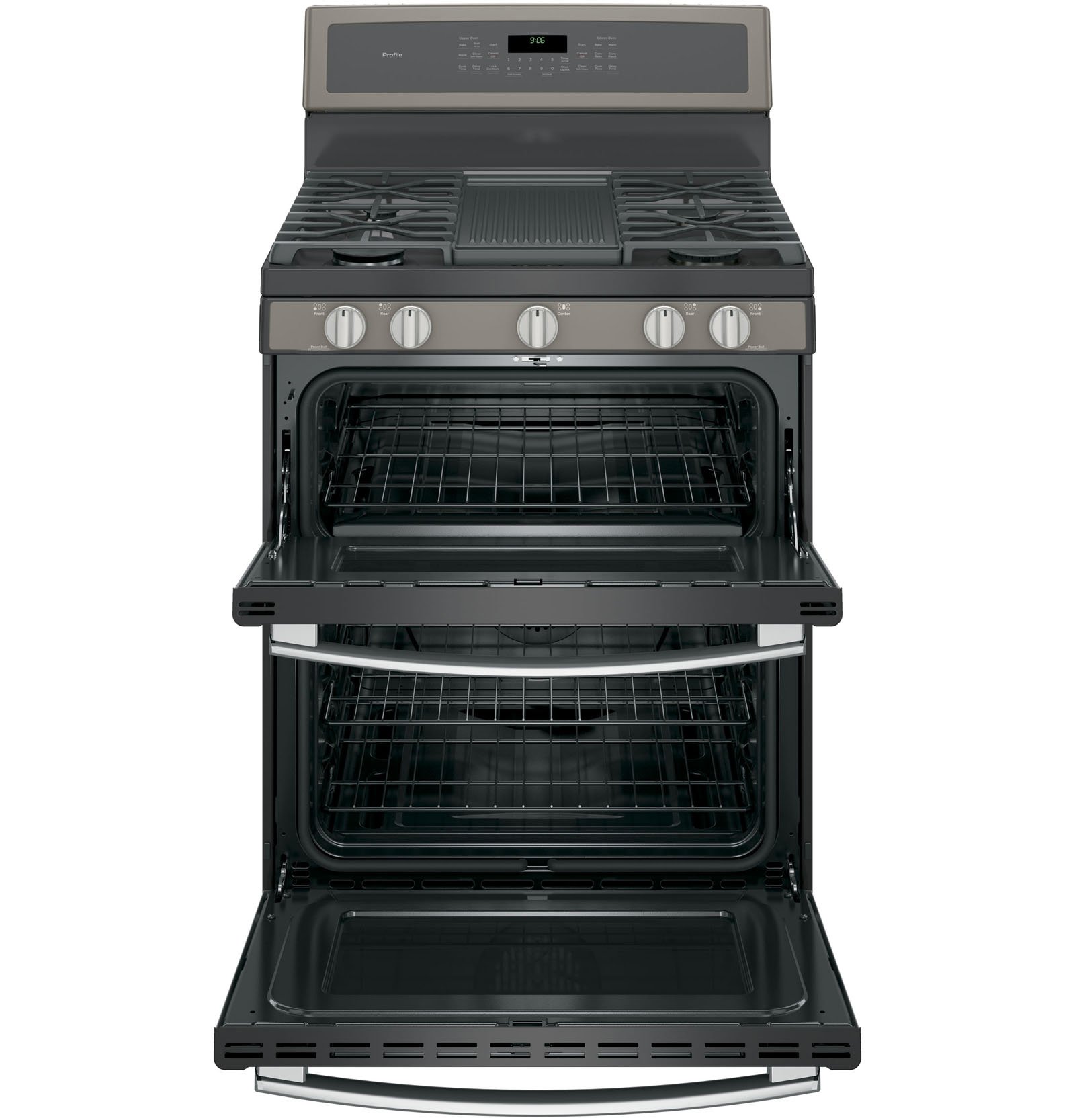 GE Profile PGB960EEJES 6.8 cu. ft. Freestanding Range w/ Double Convection Oven - Slate