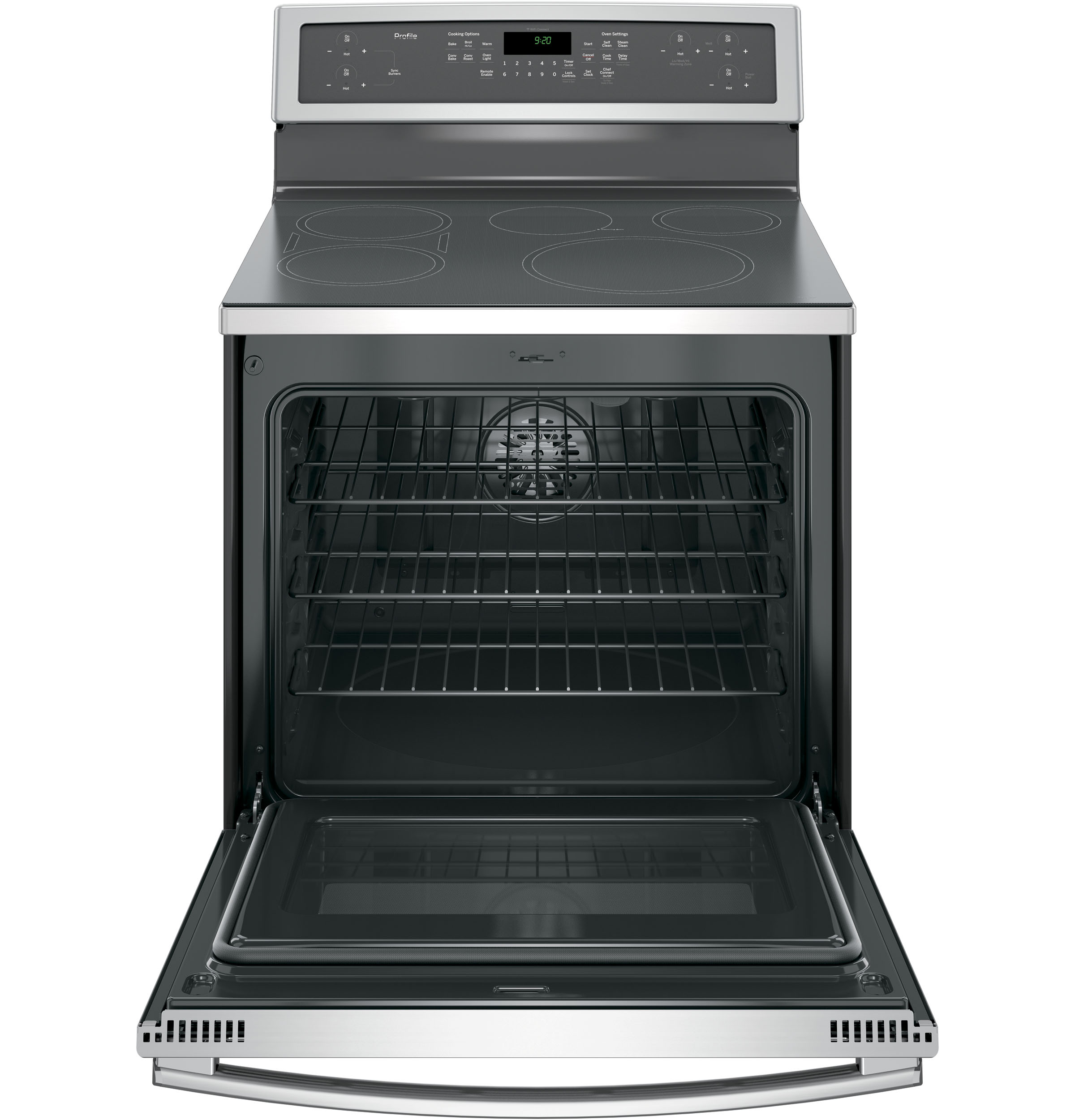 GE Profile PHB920SJSS 5.3 cu. ft. Electric Induction Range - Stainless Steel