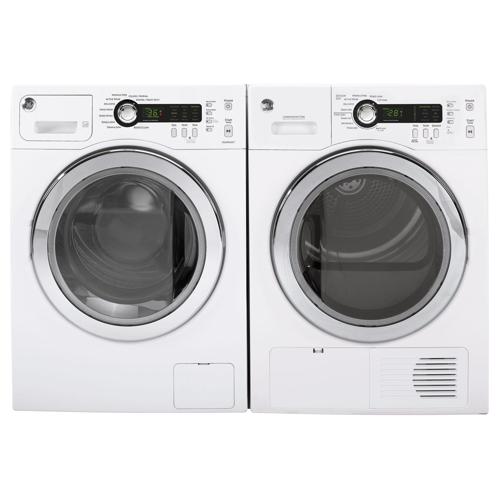 GE Appliances WCVH4800KWW 2.2 cu. ft. Front-load Washer - White WCVH4800KWW