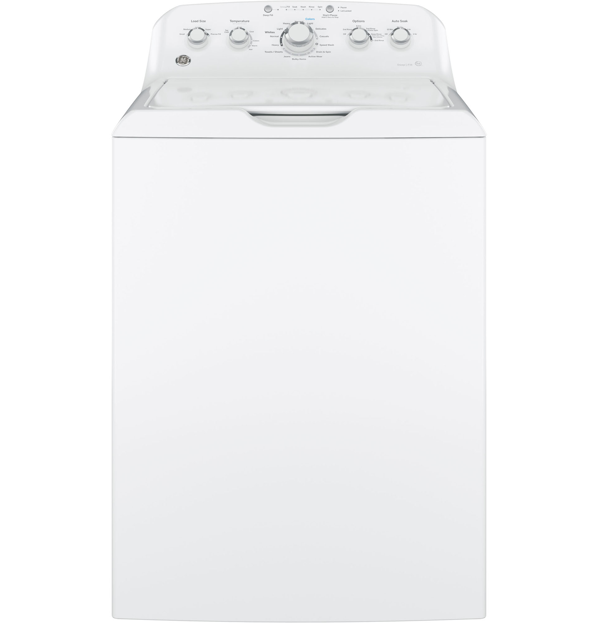 GE Appliances GTW460ASJWW 4.2 cu. ft. Top Load Washer - White
