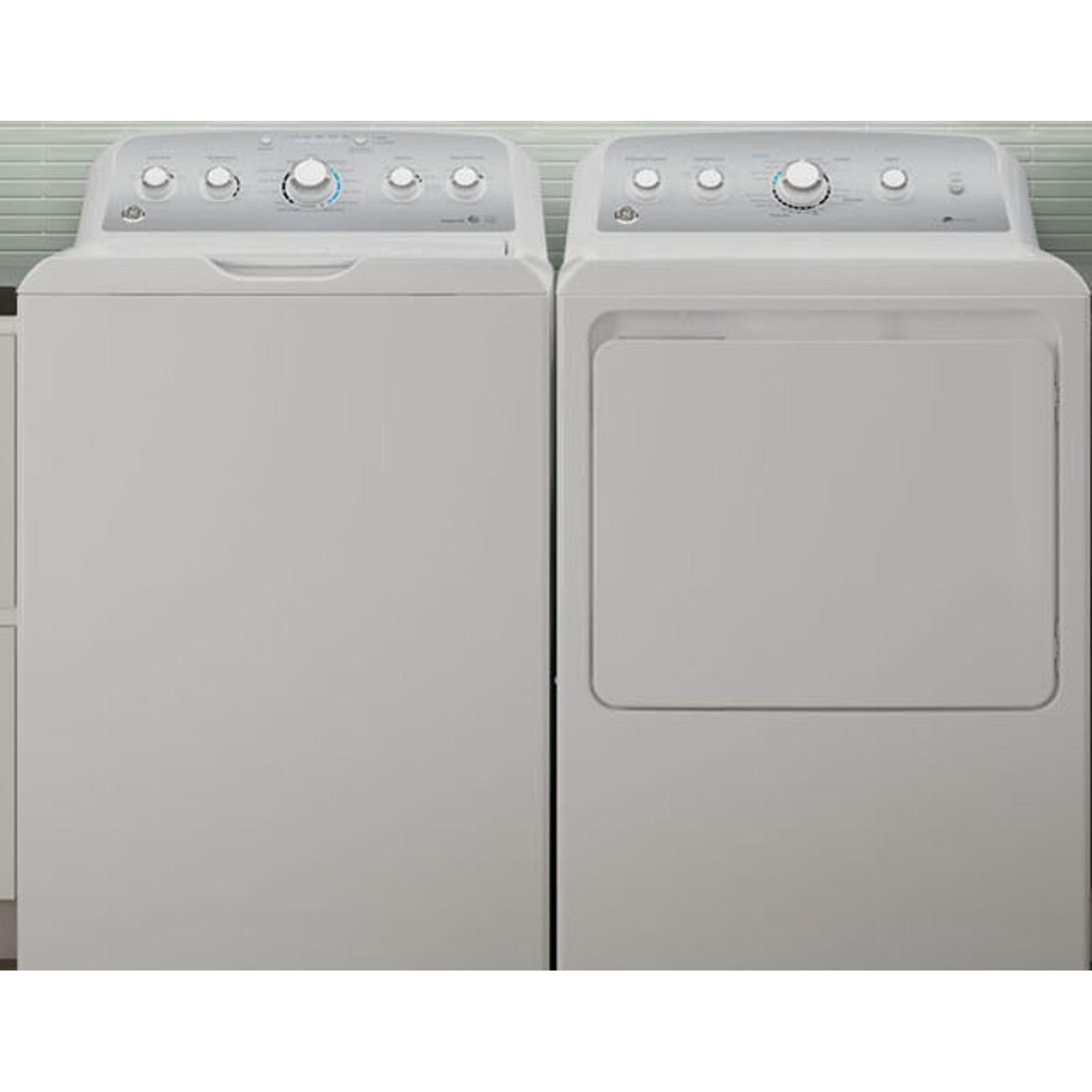 4.2 DOE cu. ft. Top Load Washer & 7.2 cu. ft. Dryer - White