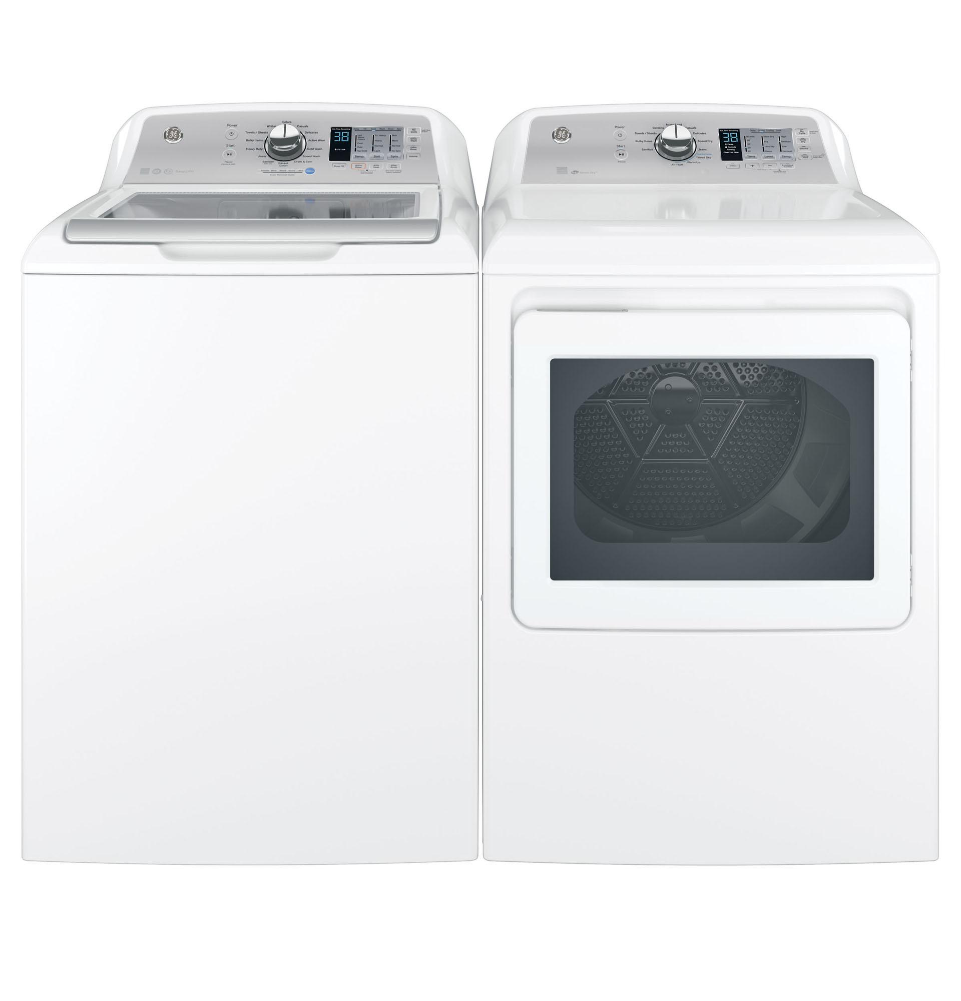 4.6 DOE cu. ft. Top Load Washer & 7.4 cu. ft. Dryer w/ Aluminized Alloy Drum - Bundle