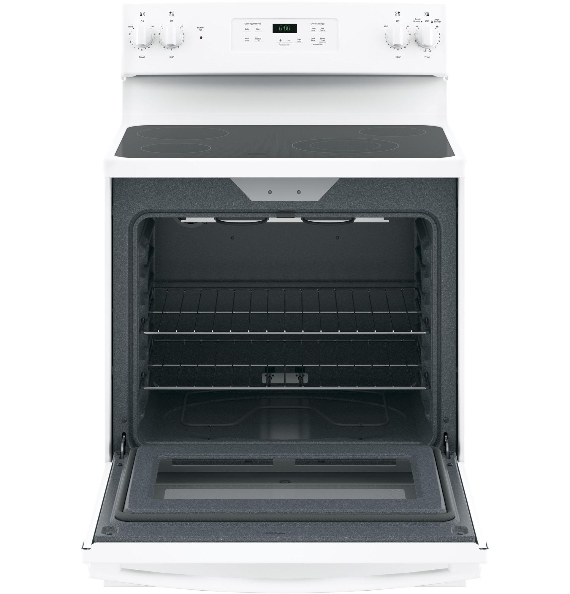 "GE Appliances JBS60DKWW 30"" Freestanding Electric Range - White"
