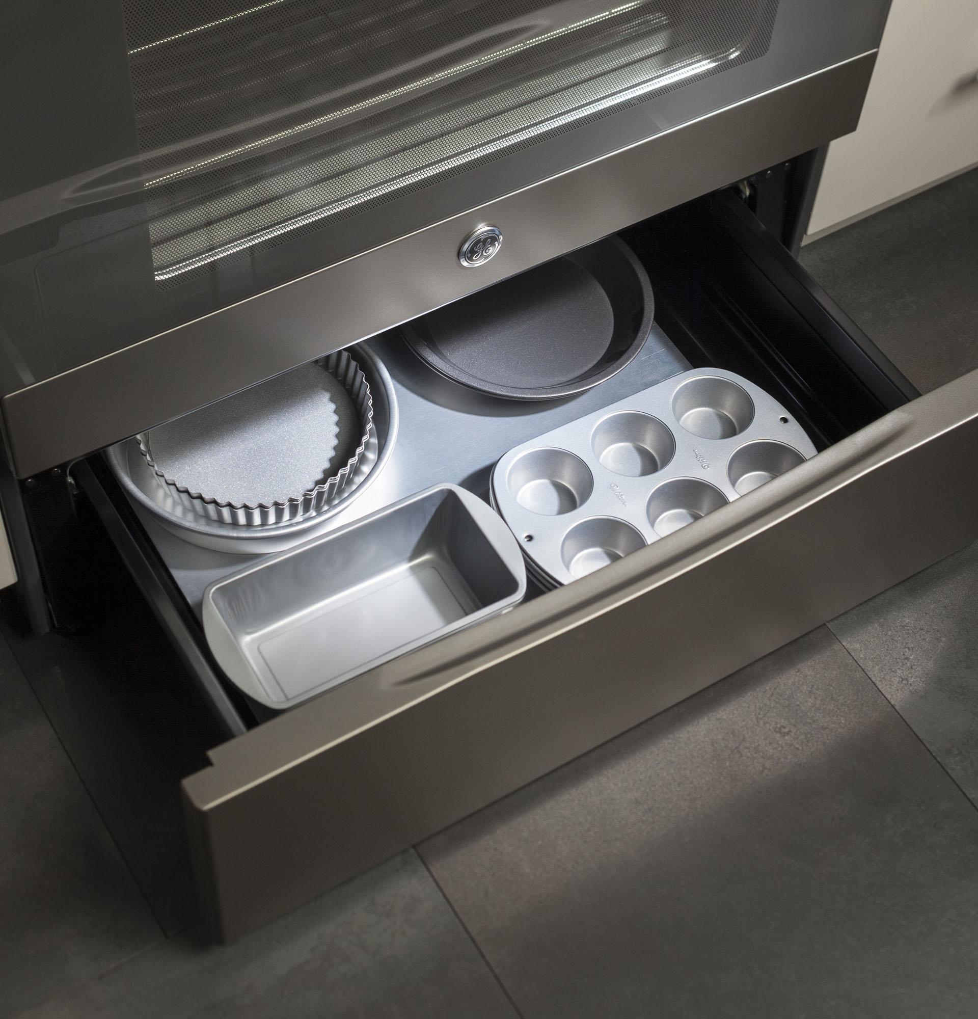 "GE Appliances JB645EKES 30"" Freestanding Electric Range - Slate"