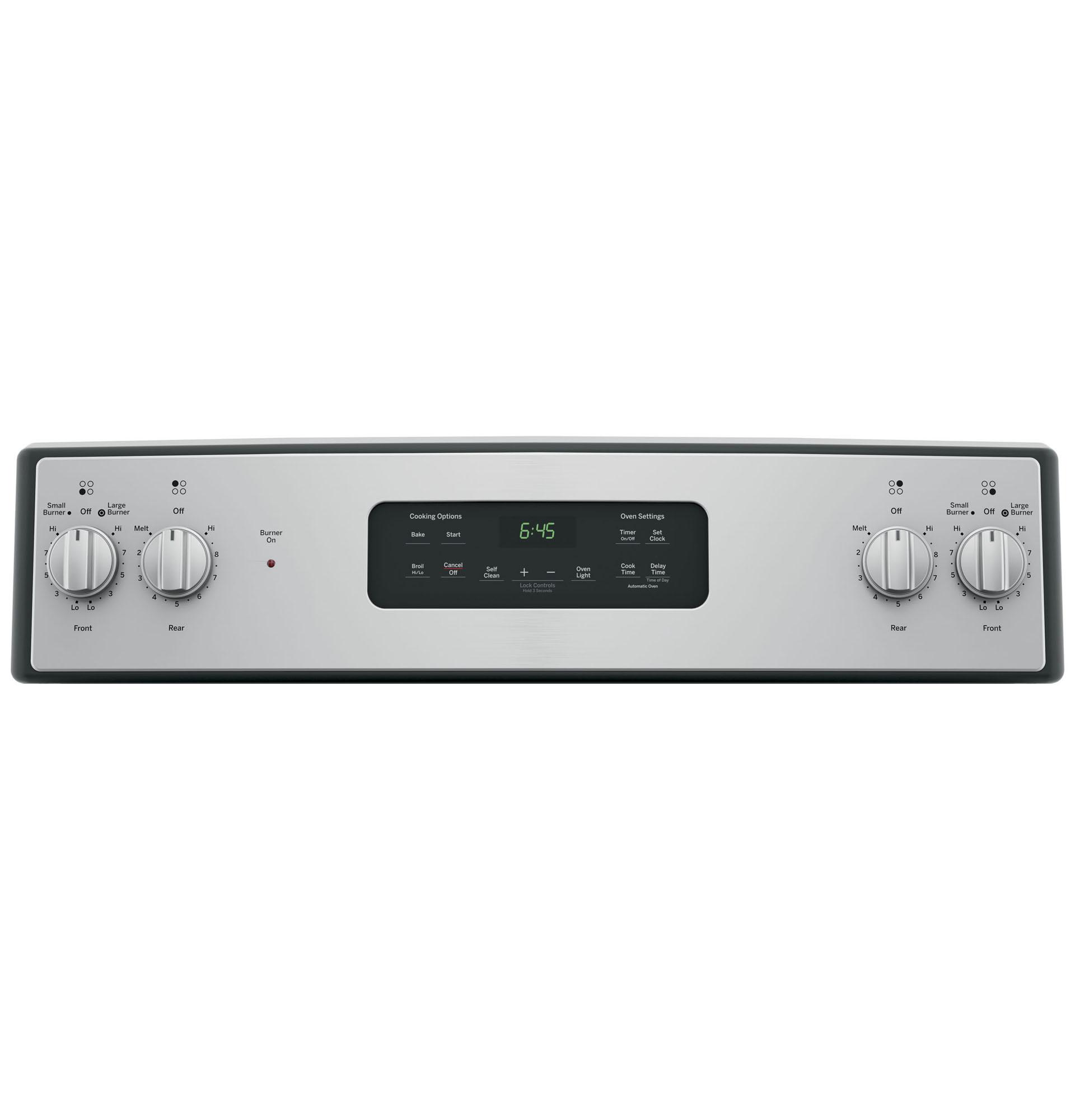 "GE Appliances JB645RKSS 30"" Freestanding Electric Range - Stainless Steel"